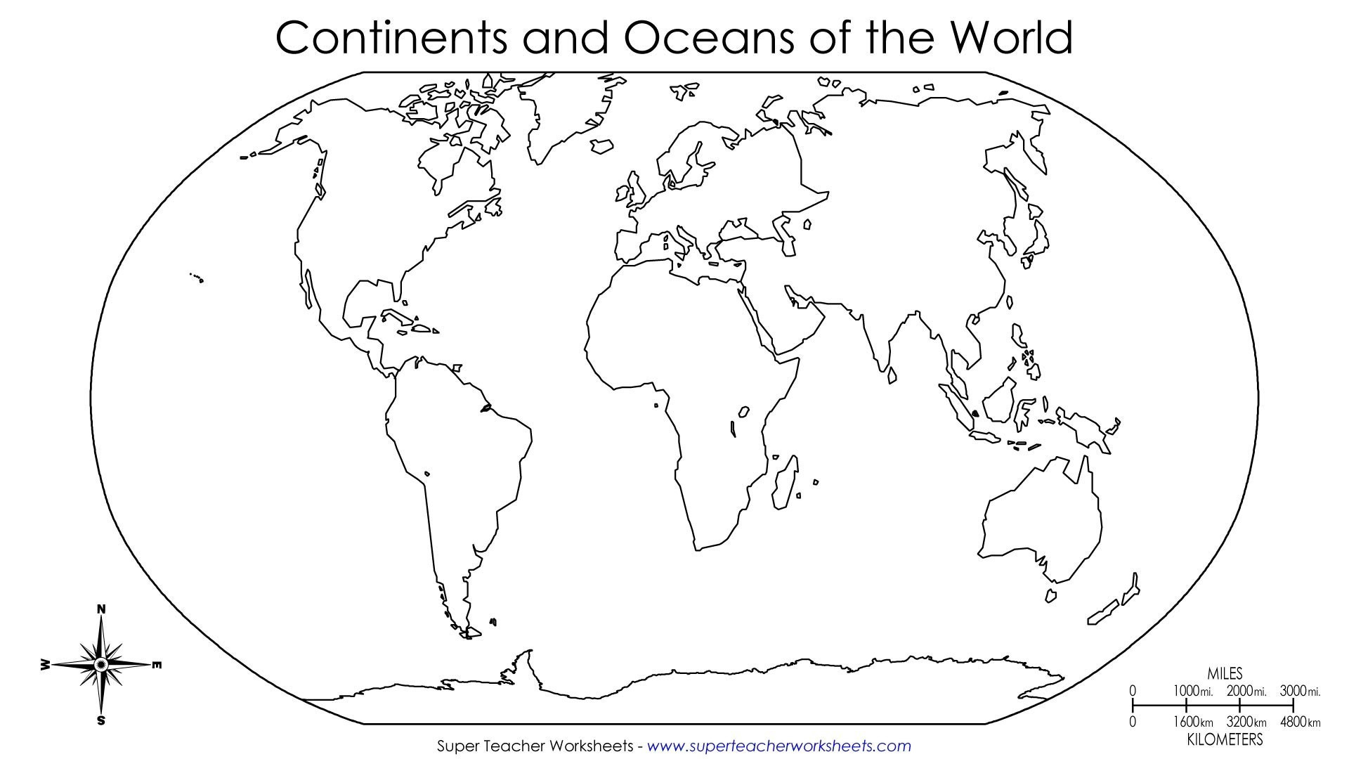 7 Continents Printable Map Luxury Printable Continents To Cut Out Fresh World Map With Continent Names