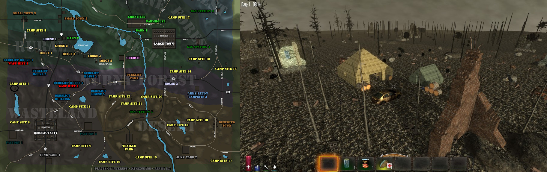 7 Days to Die Printable Map Best Of Steam Munity Guide 7 Days to Die Buildings Map and Pictures