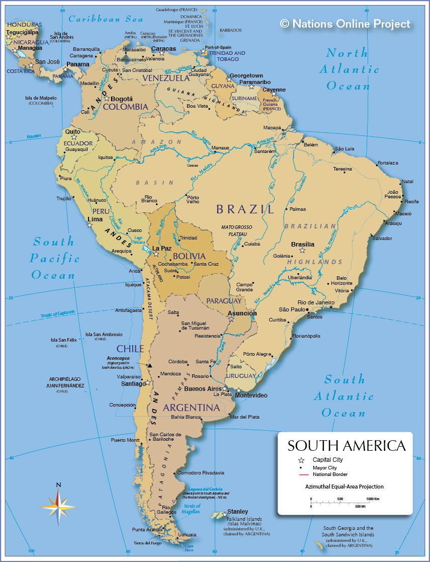 8.5 X 11 Printable Map Of Usa Awesome Map Of South America Nations Line Project