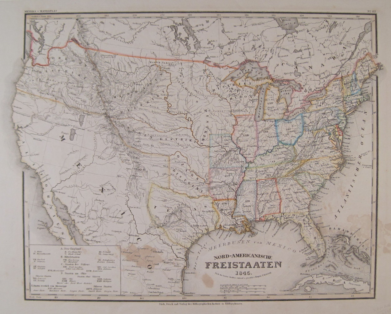 8x10 Printable Map Best Of Antique Maps Of The United States Page 2