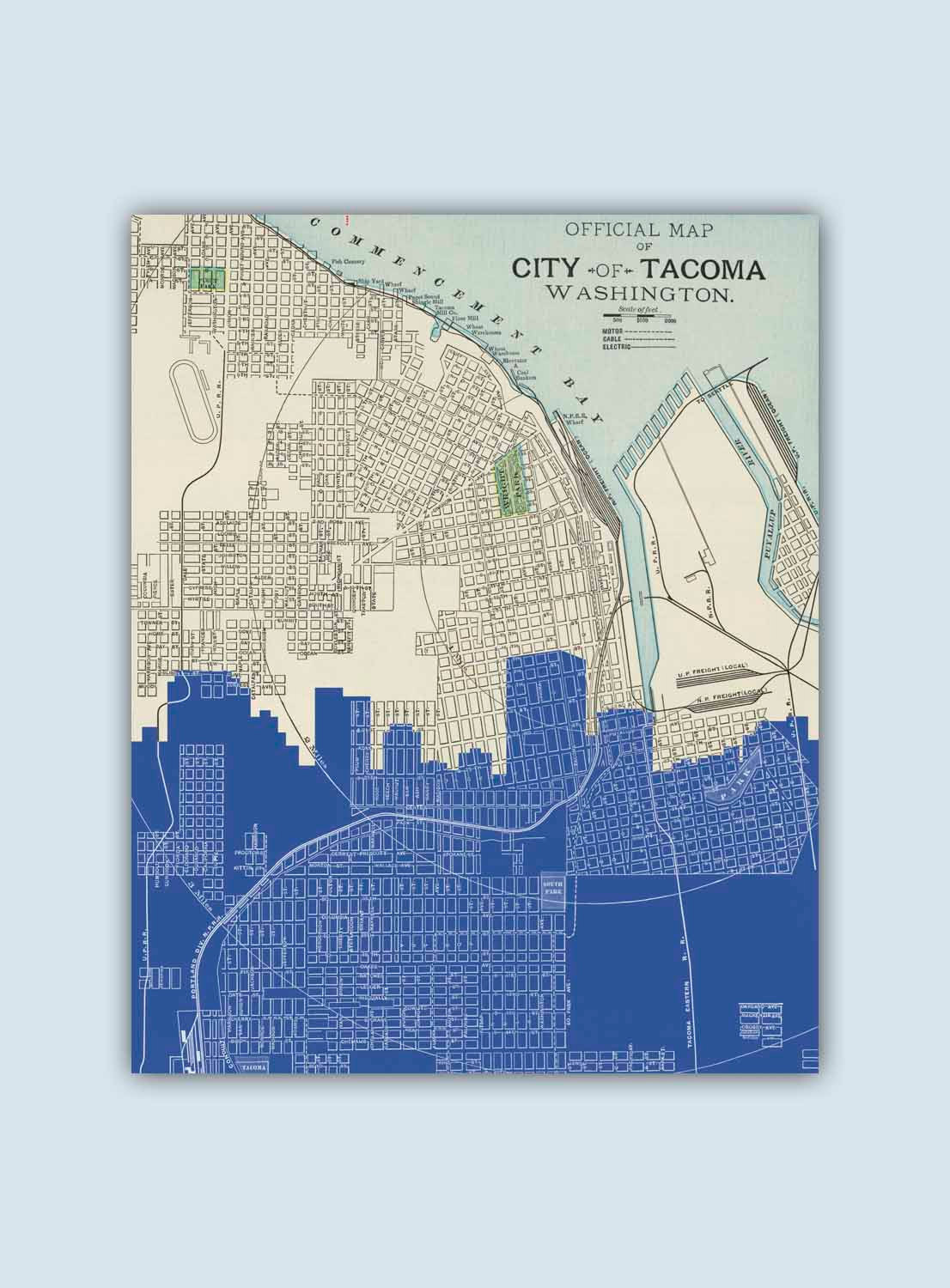 8x10 Printable Map Best Of Ta A Skyline Ta A Art Print Ta A Decor Ta A Poster