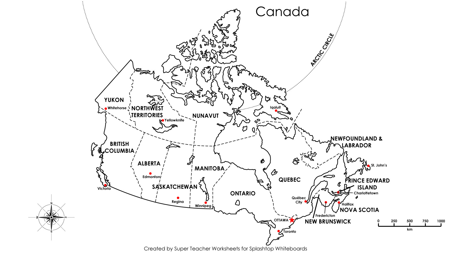 Printable Maps Canada New Free Printable Map Canada Provinces
