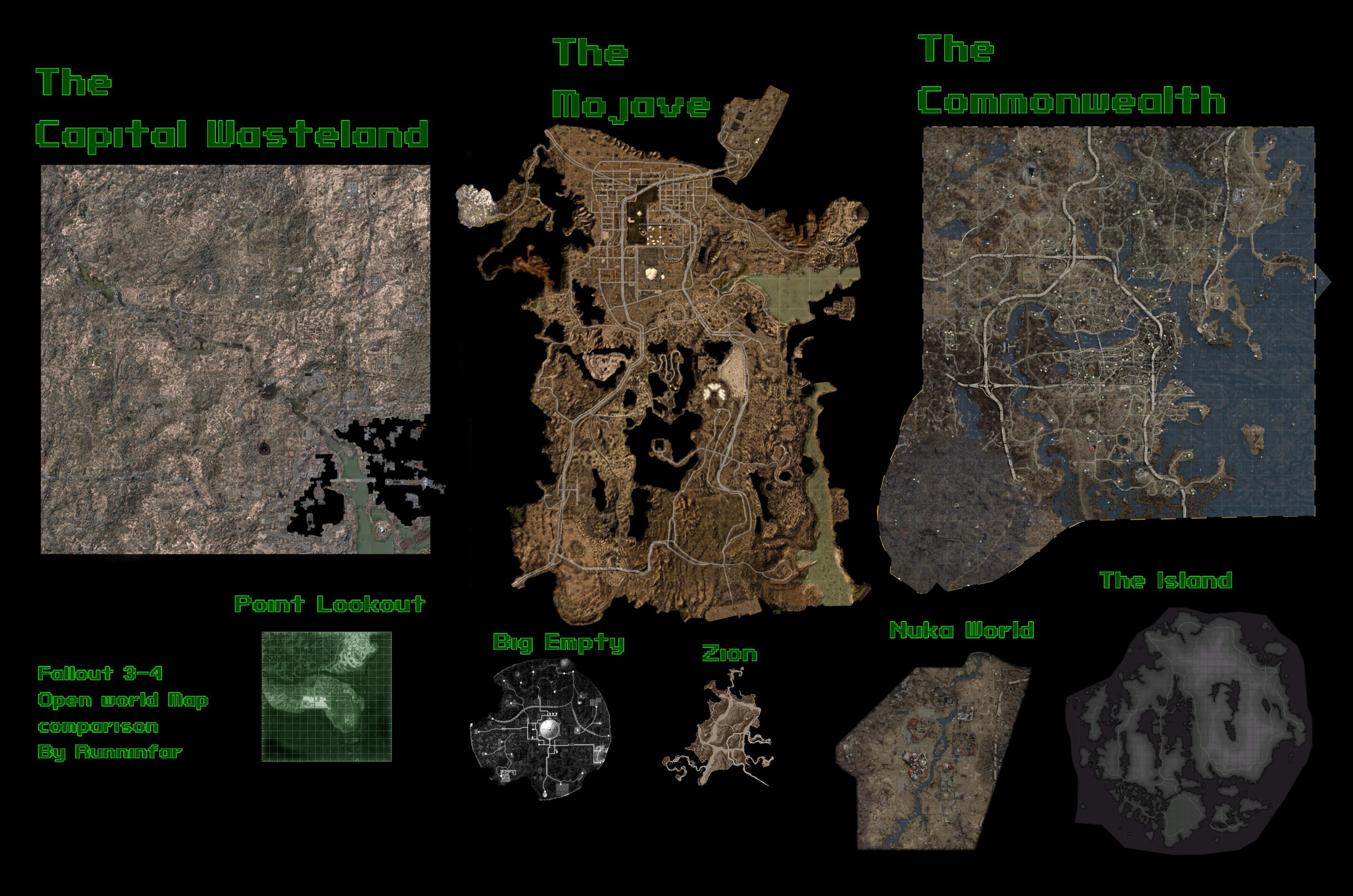 Fallout 3 Printable Map Unique Fallout Map Size Mersnoforum