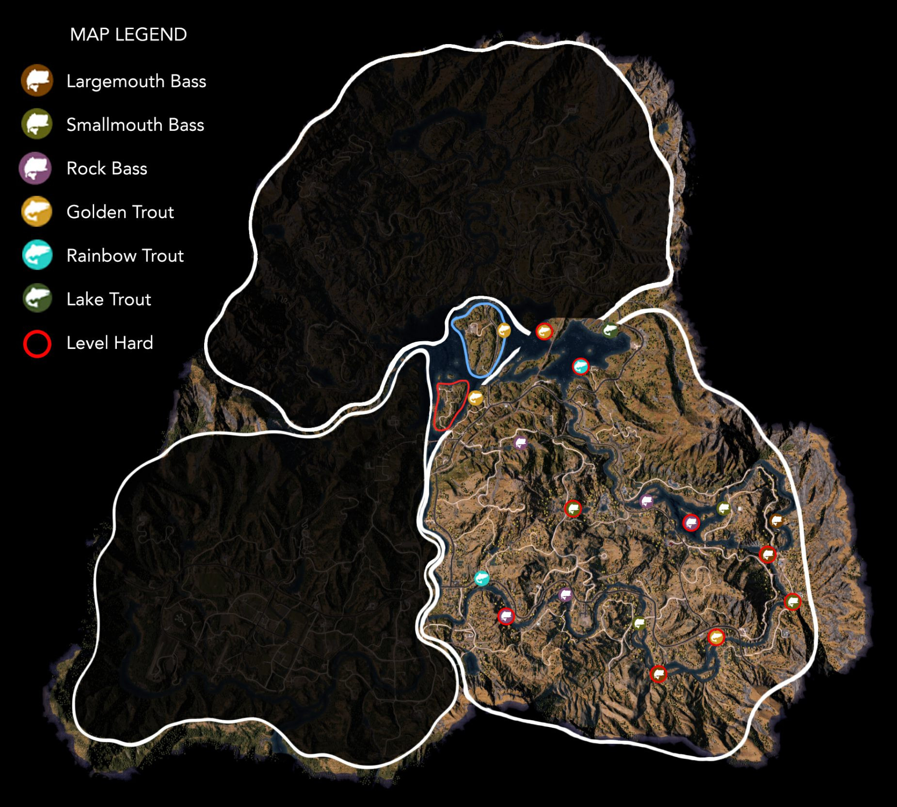 Steam munity Guide Far Cry 5 World Map & Locations