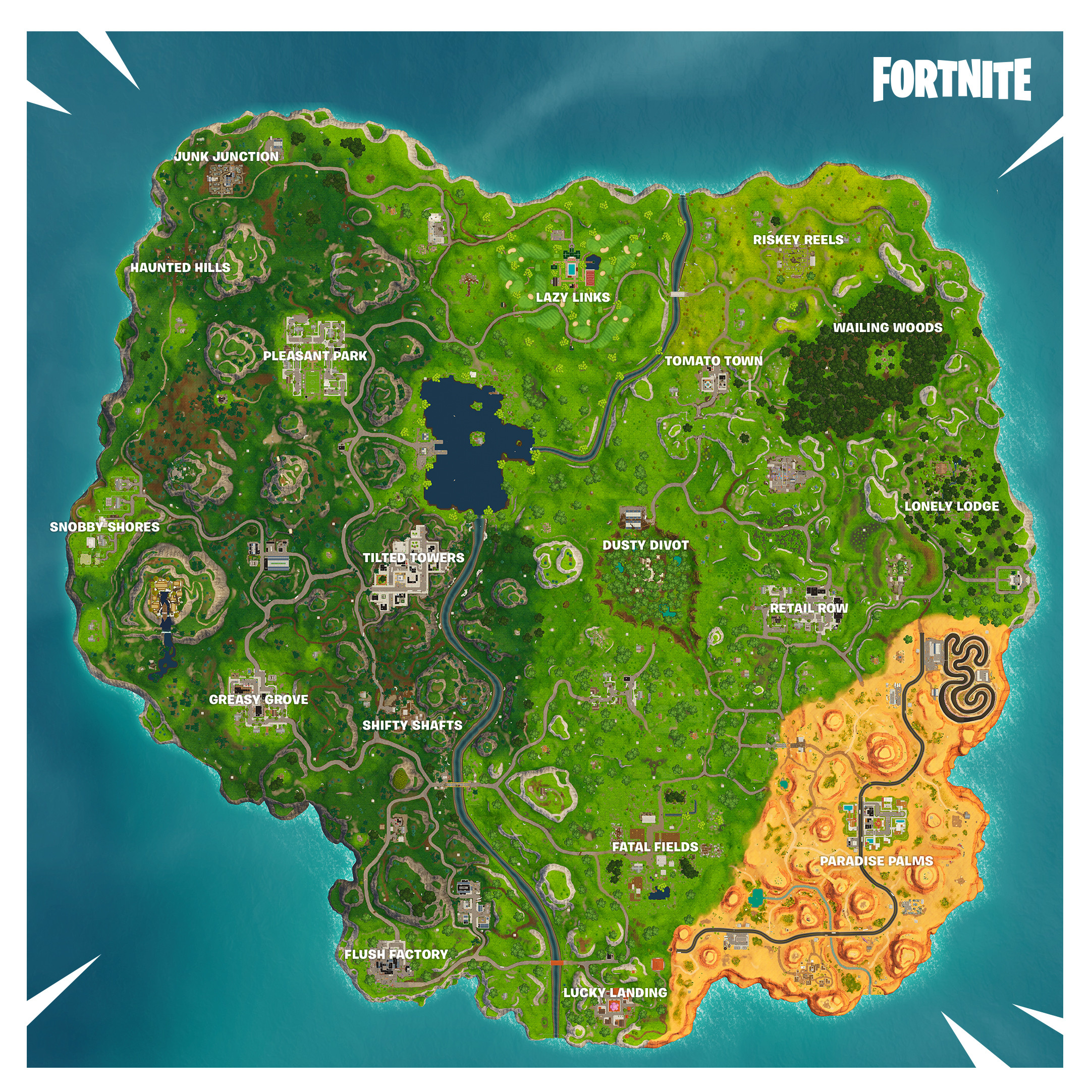 Fortnite Season 5 Map Printable Elegant Fortnite Sezona 5 Season 5 V5 0 Gaming