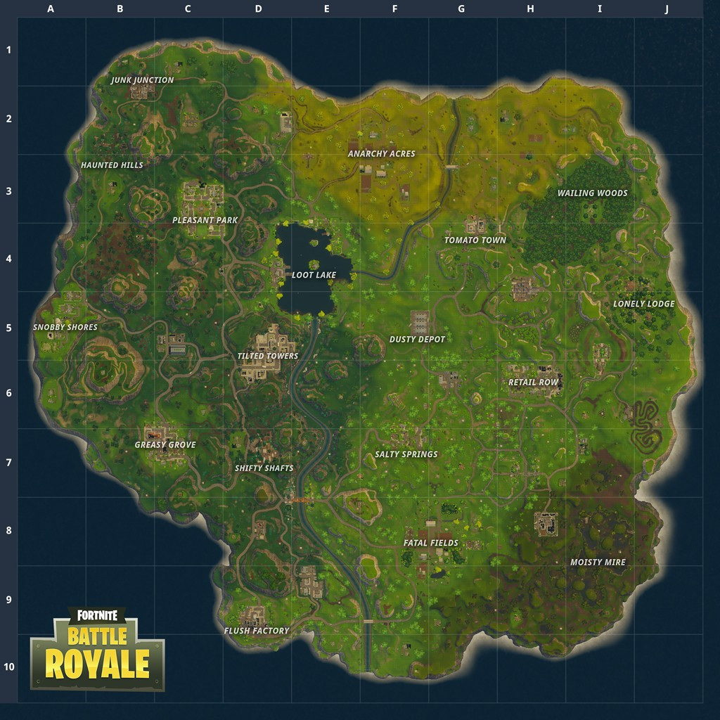 Fortnite New MAP in 2 0 0 update Battle Royale