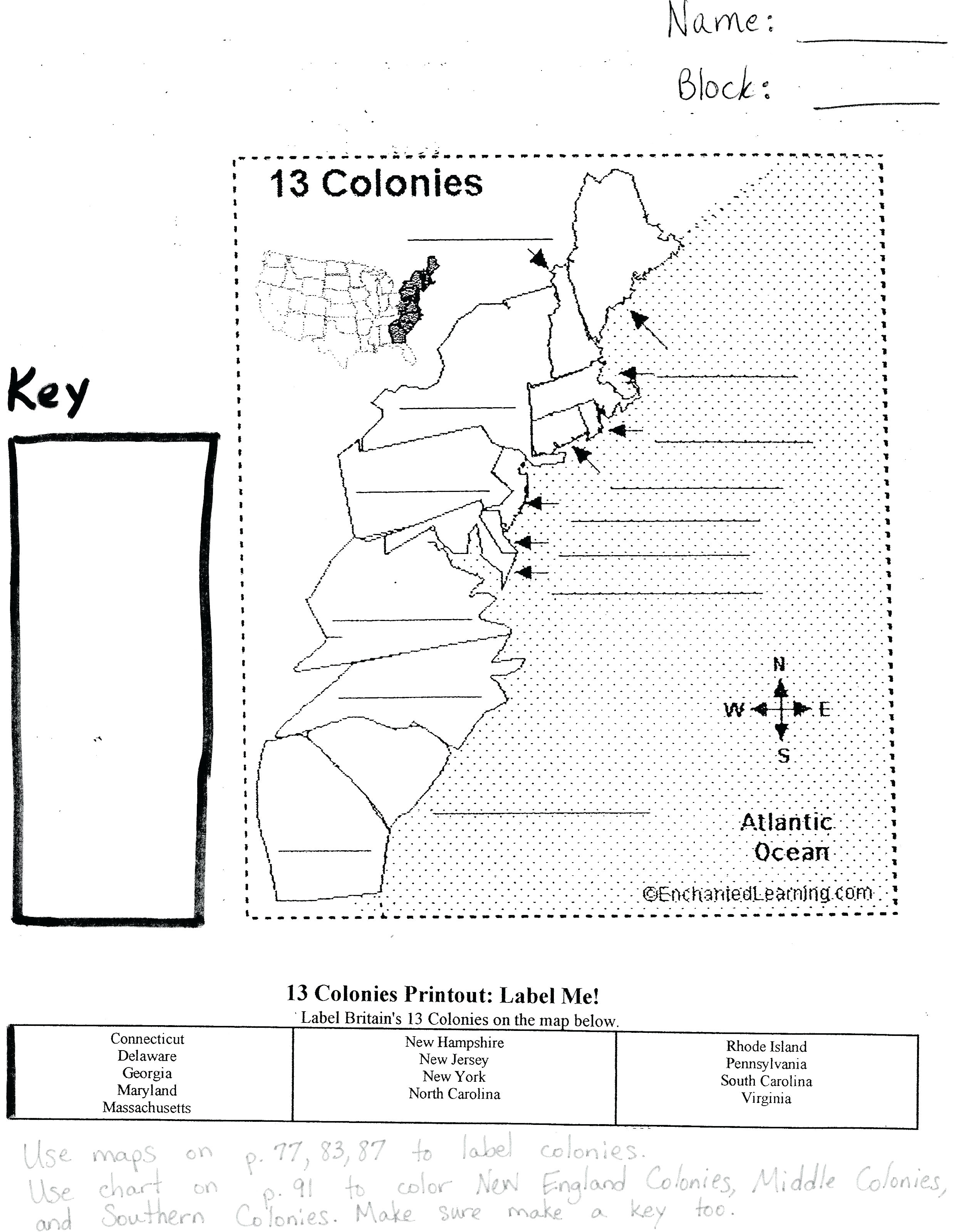 Free Printable Map 13 original Colonies Best Of Category Maps 134