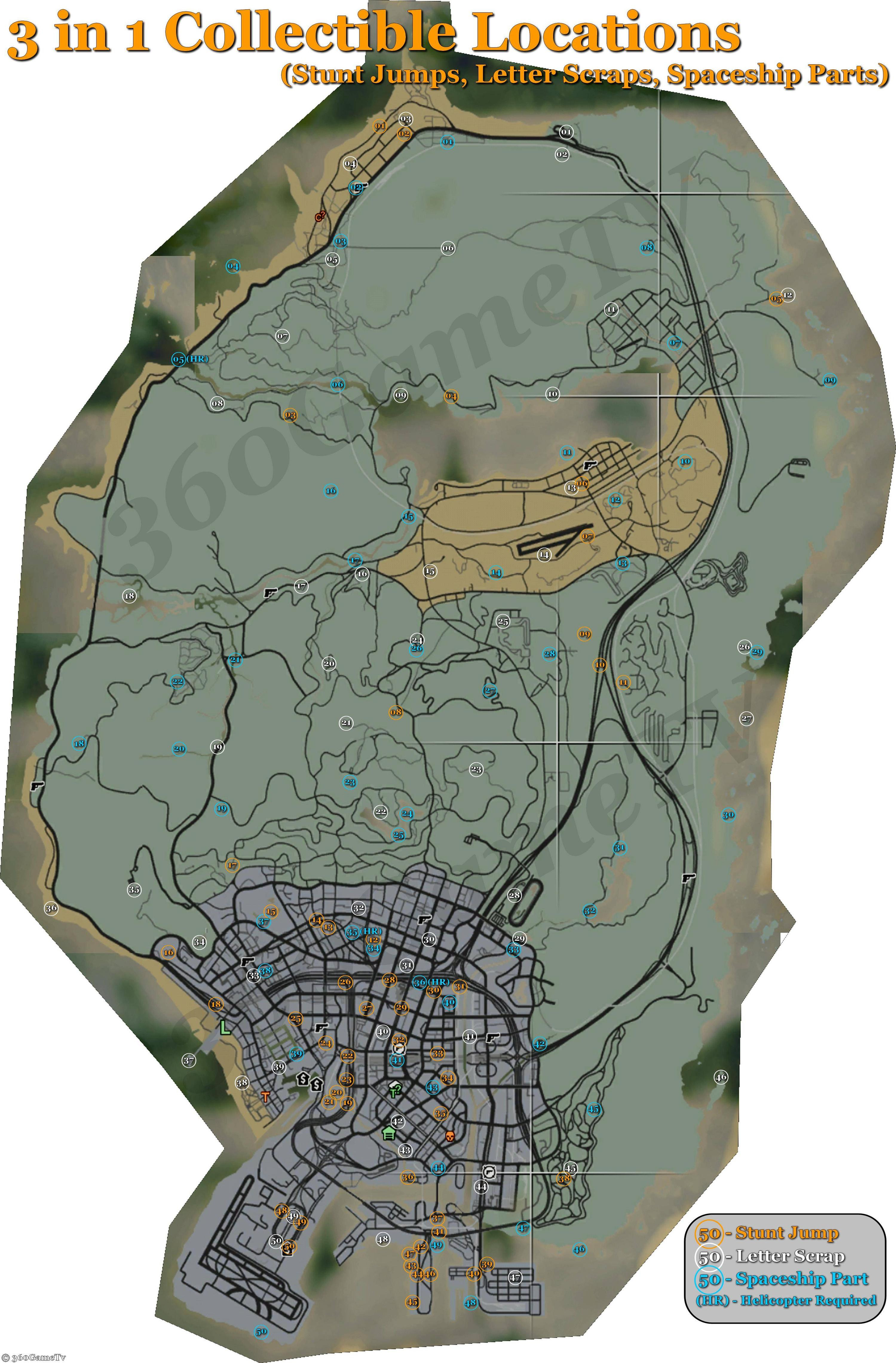 Gta 5 Printable Map Lovely A Mystery solved Achievement In Grand theft Auto V Xbox 360