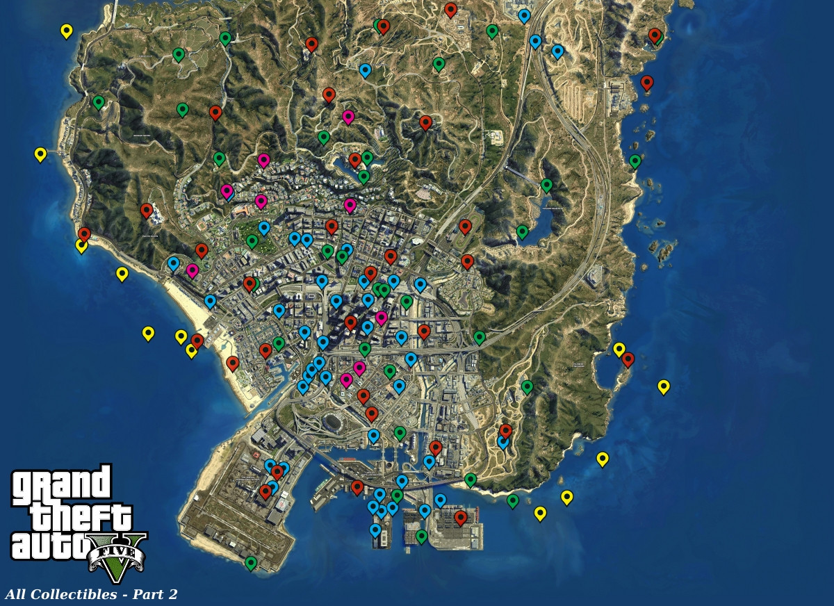 Gta V Printable Map Inspirational Steam Munity Guide Maps And Collectibles Locations