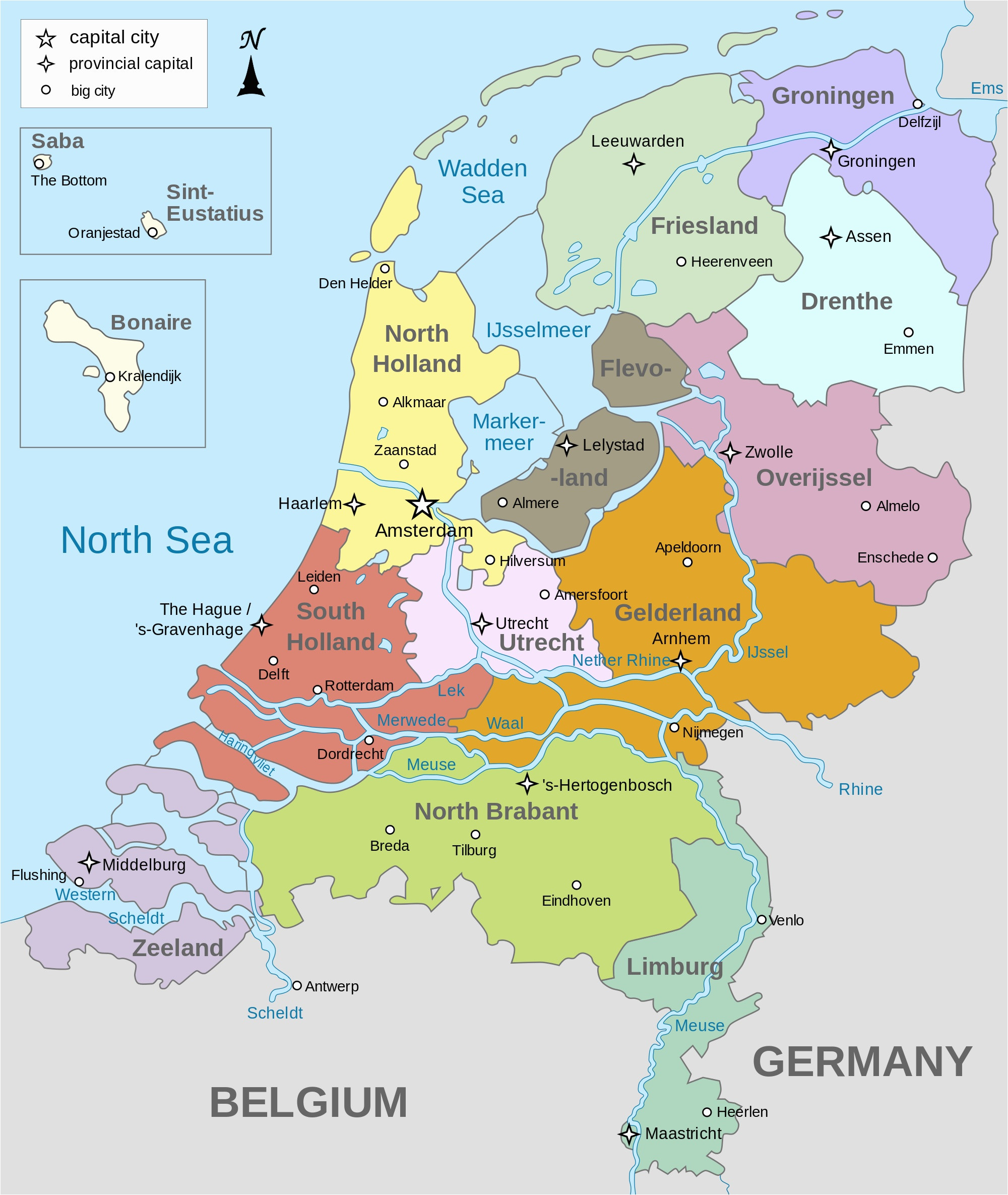 Gta V Printable Map Lovely Image Map Provinces Netherlands Eng Gta Wiki Map Capitals