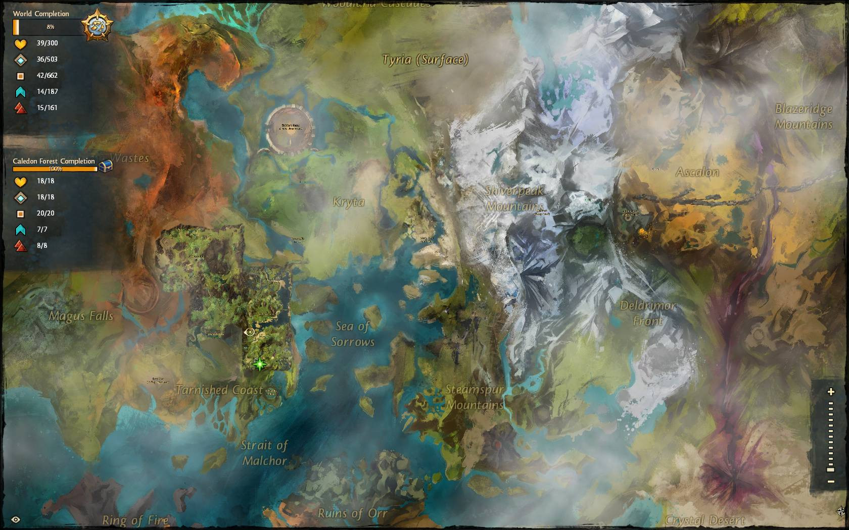 10 Inspirational Guild Wars 2 Printable Map