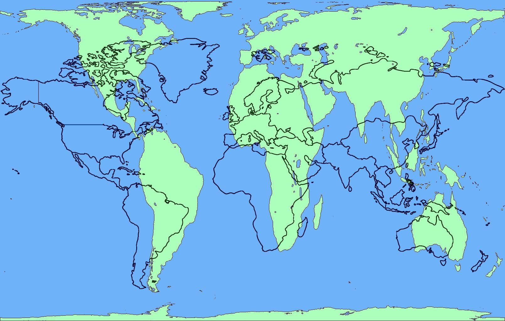 Printable 1 Page World Map Elegant The Peters Projection World Map Is One Of The Most Stimulating And