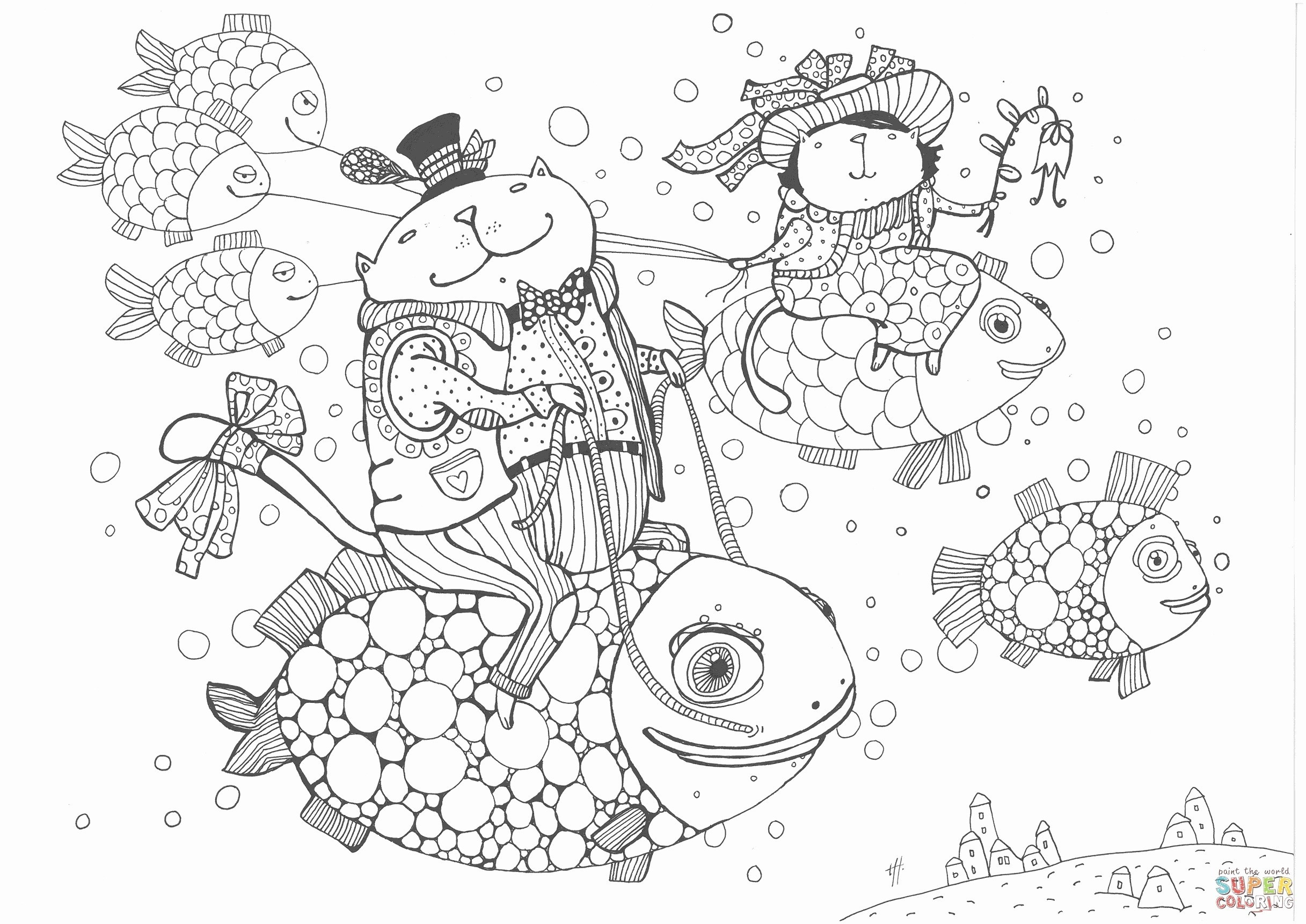 Best Printable Fish Coloring Pages More Image Ideas