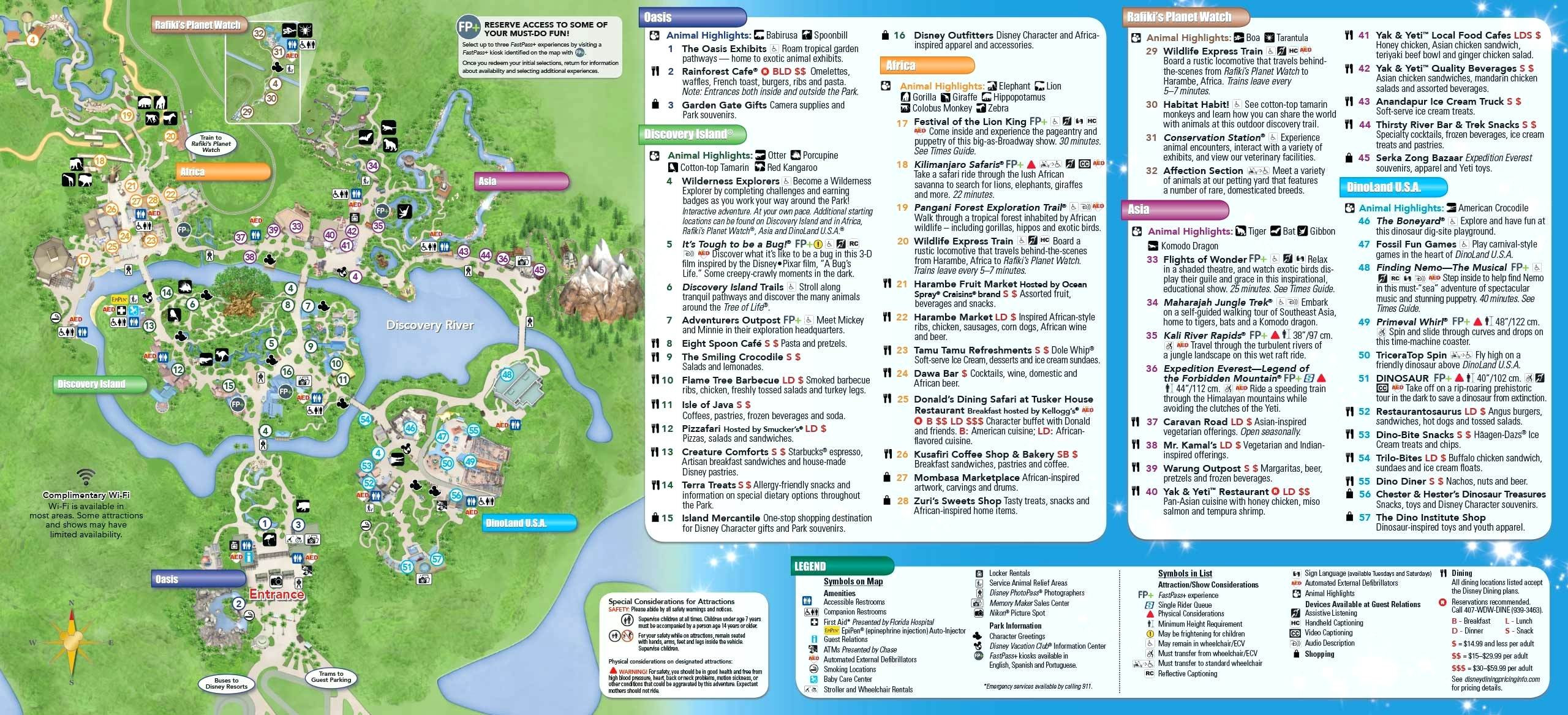 Printable Map Disney World Me Best Maps