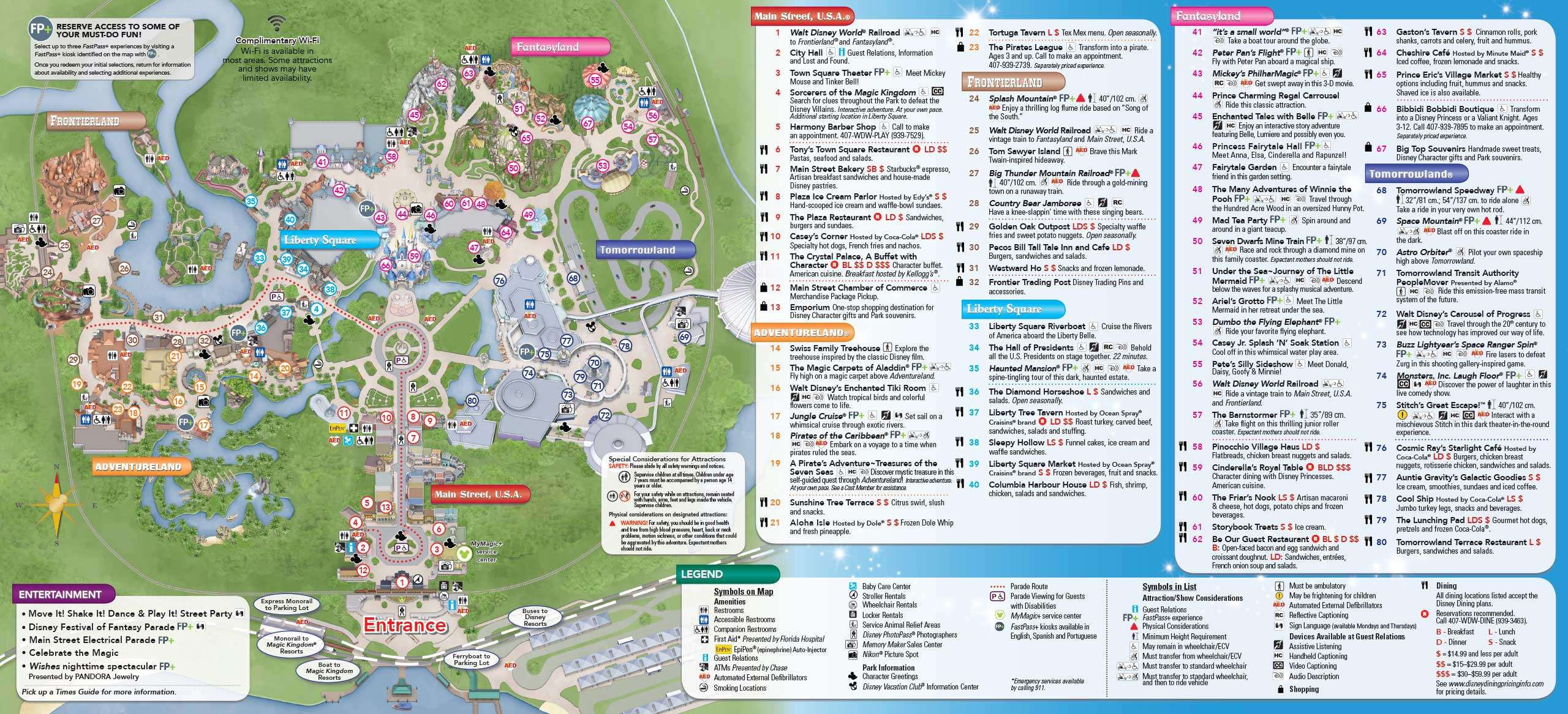 Printable Disneyland Map 2018 Elegant Map Disney World Mousehints At Printable Scrapsofme Me Within