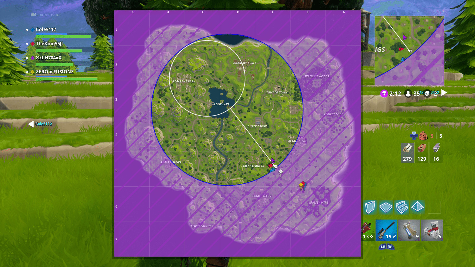 Printable fortnite Map Season 4 New Loot Llama Heat Map Season 4k