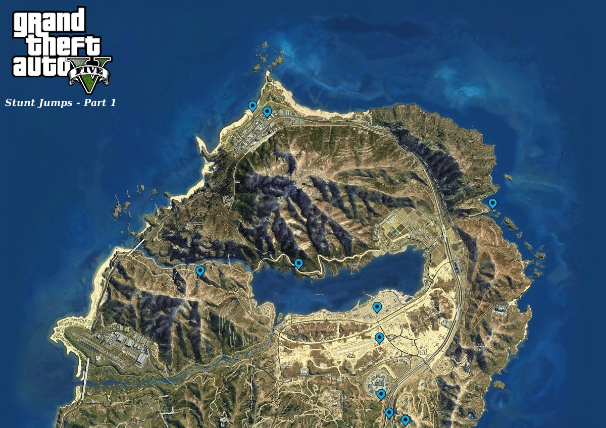 Printable Gta 5 Map Fresh Steam Munity Guide Maps And Collectibles Locations
