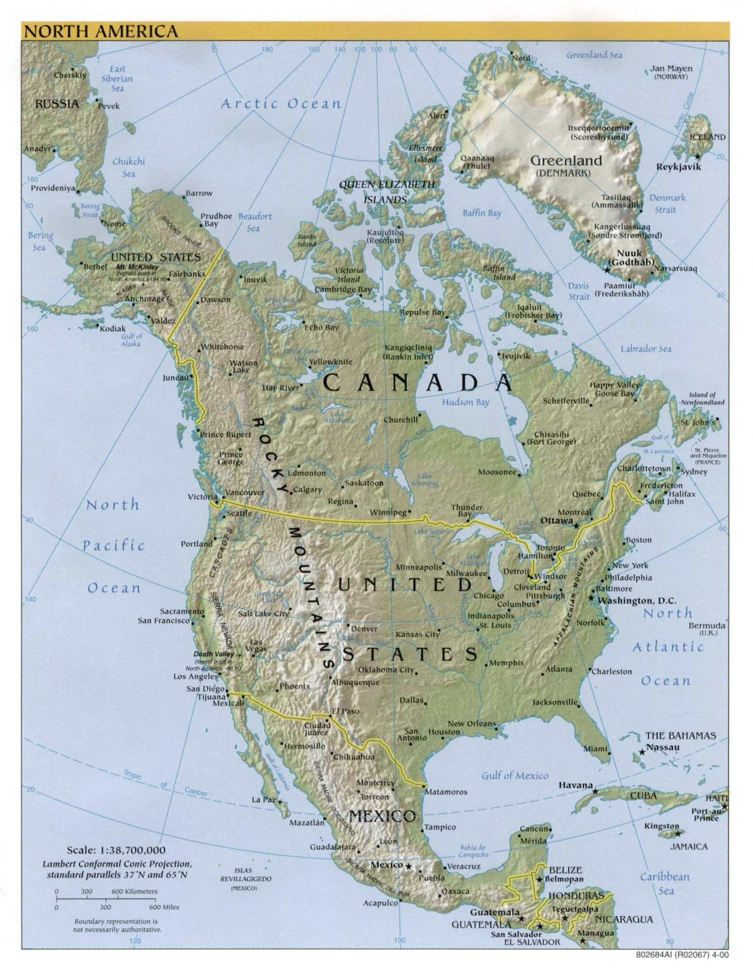 Printable Landform Map Of The United States New United States Landforms Map Refrence Physical Maps Central America