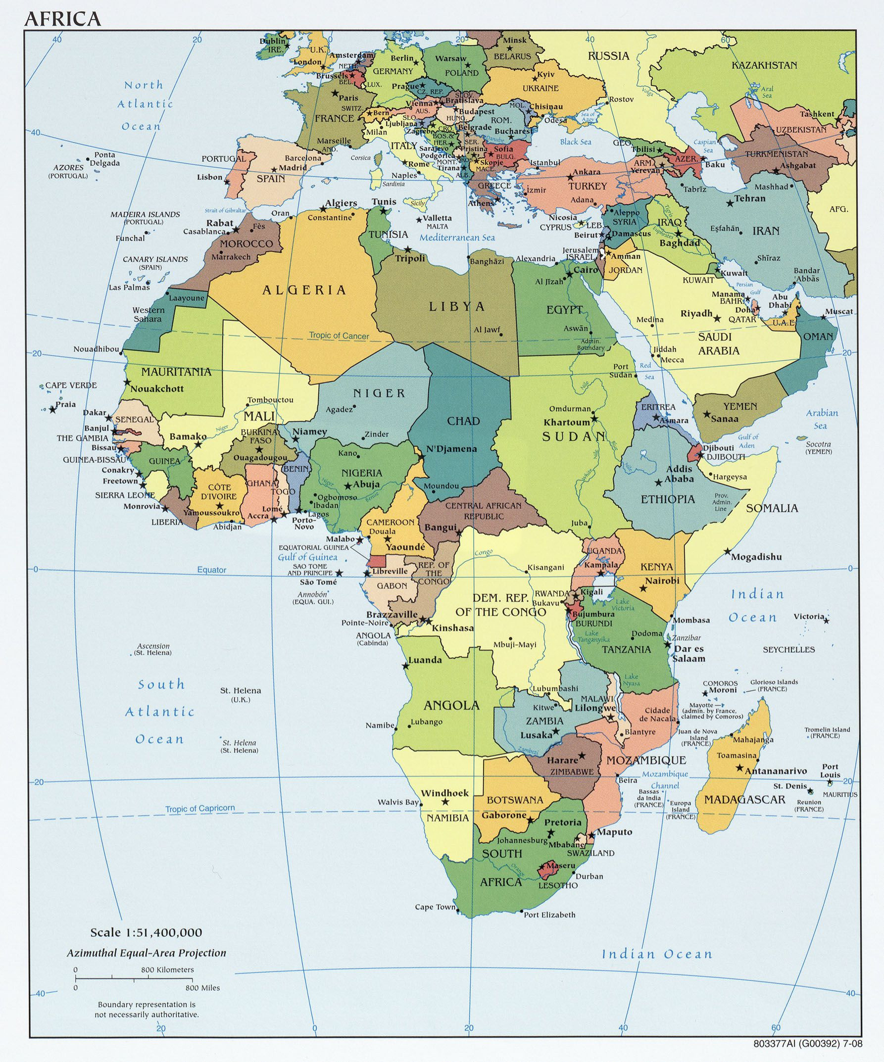 Printable Map Africa Unique Printable Map African Countries Best Various Maps Showing How Big