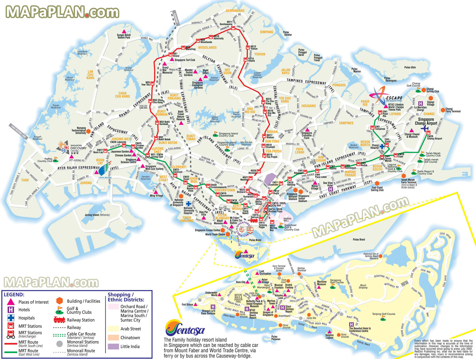Printable Map Barcelona City Centre Fresh Singapore Maps top tourist attractions Free Printable City