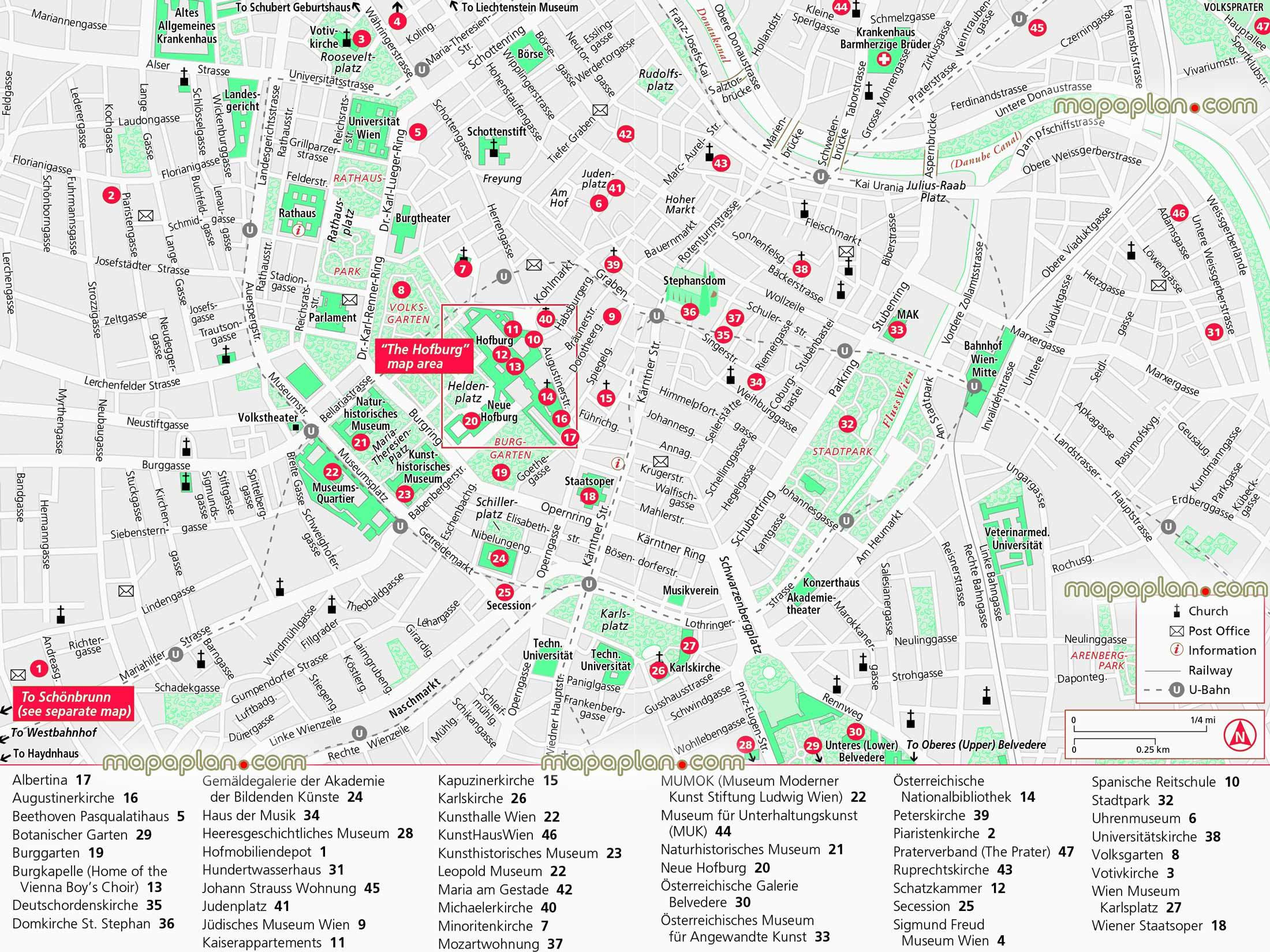 vienna tourist map printable Full HD MAPS Locations Another