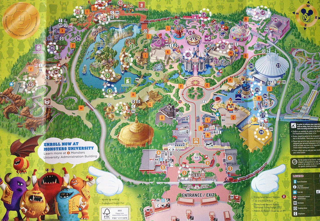 Printable Map Disneyland California Beautiful Download Epub Pdf Line Free Map Od Disneyland