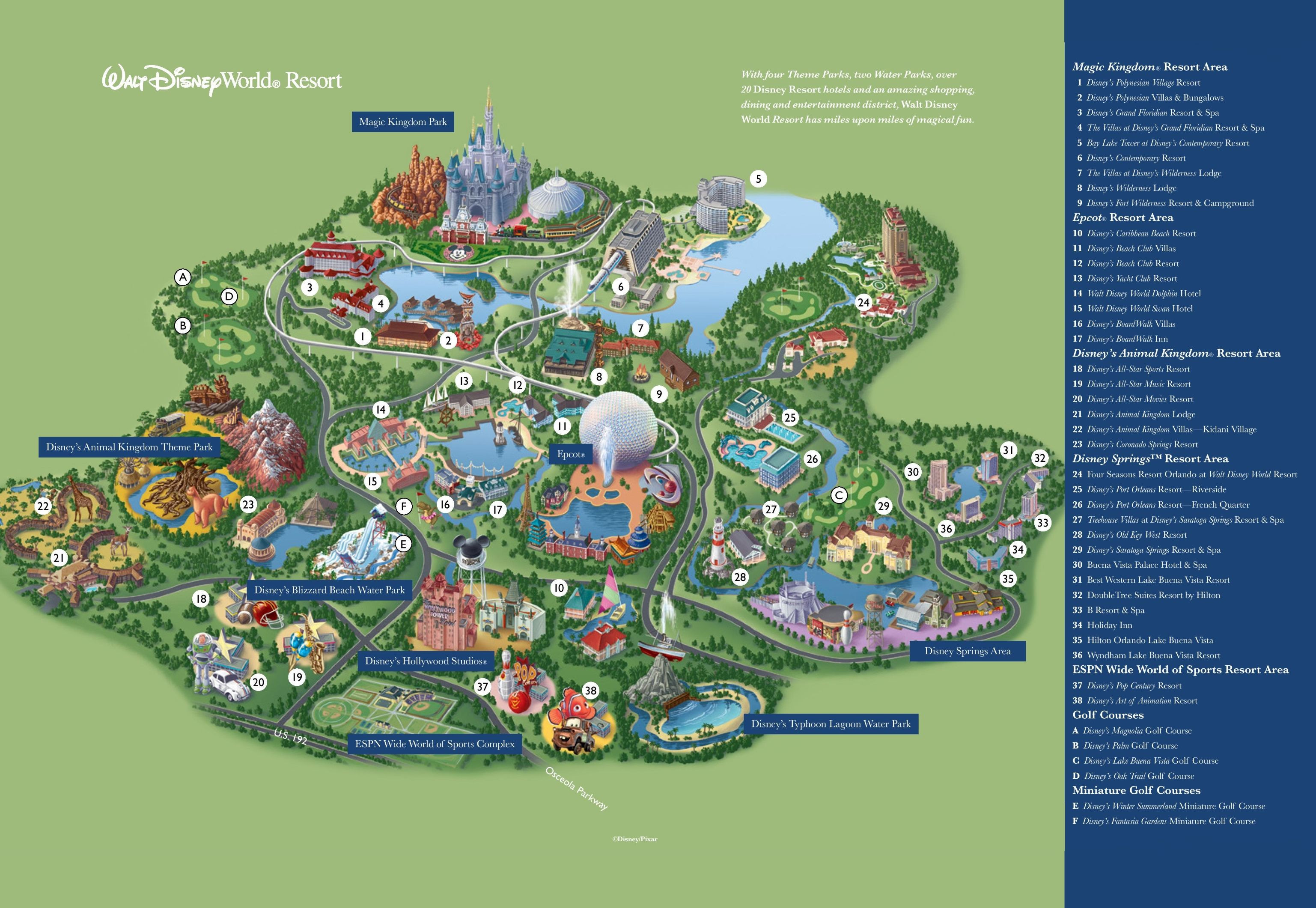 Disneyland Park California Valid Orlando Walt Disney World Resort Disneyland Park California Map Printable