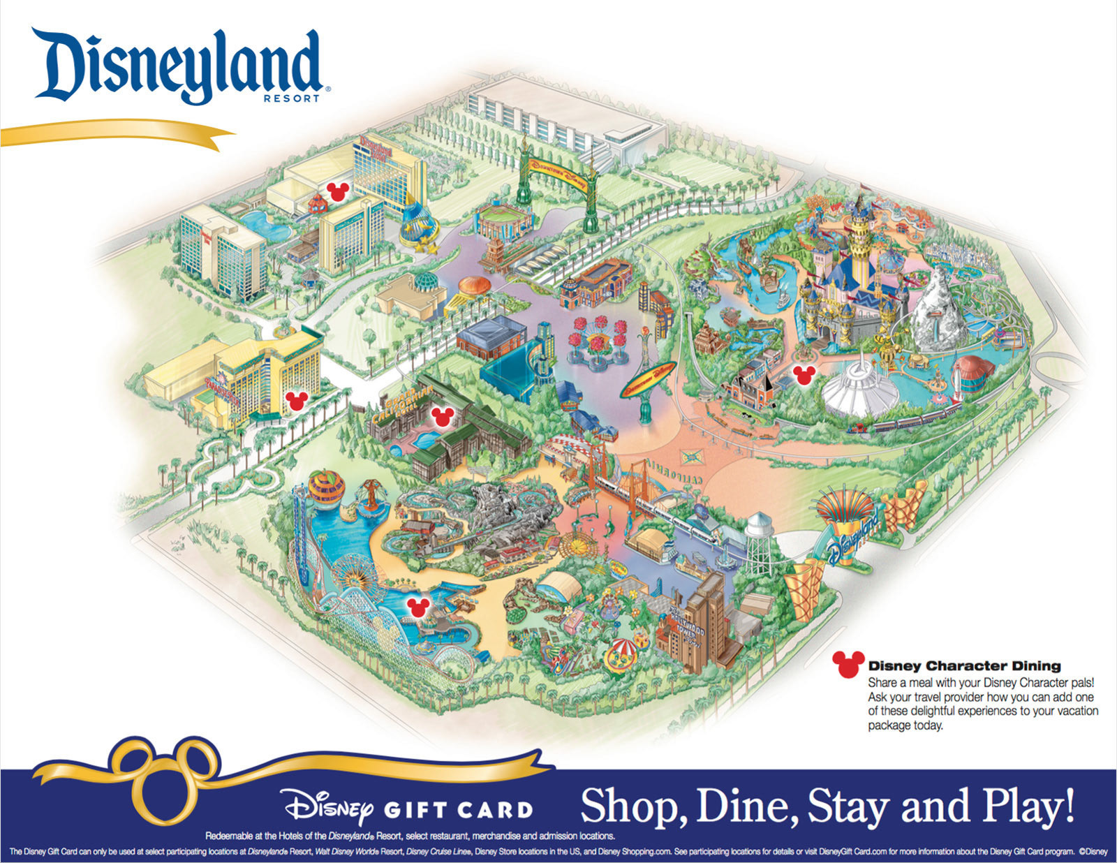 Disneyland Park California Map Printable Maps Download Wallpaper