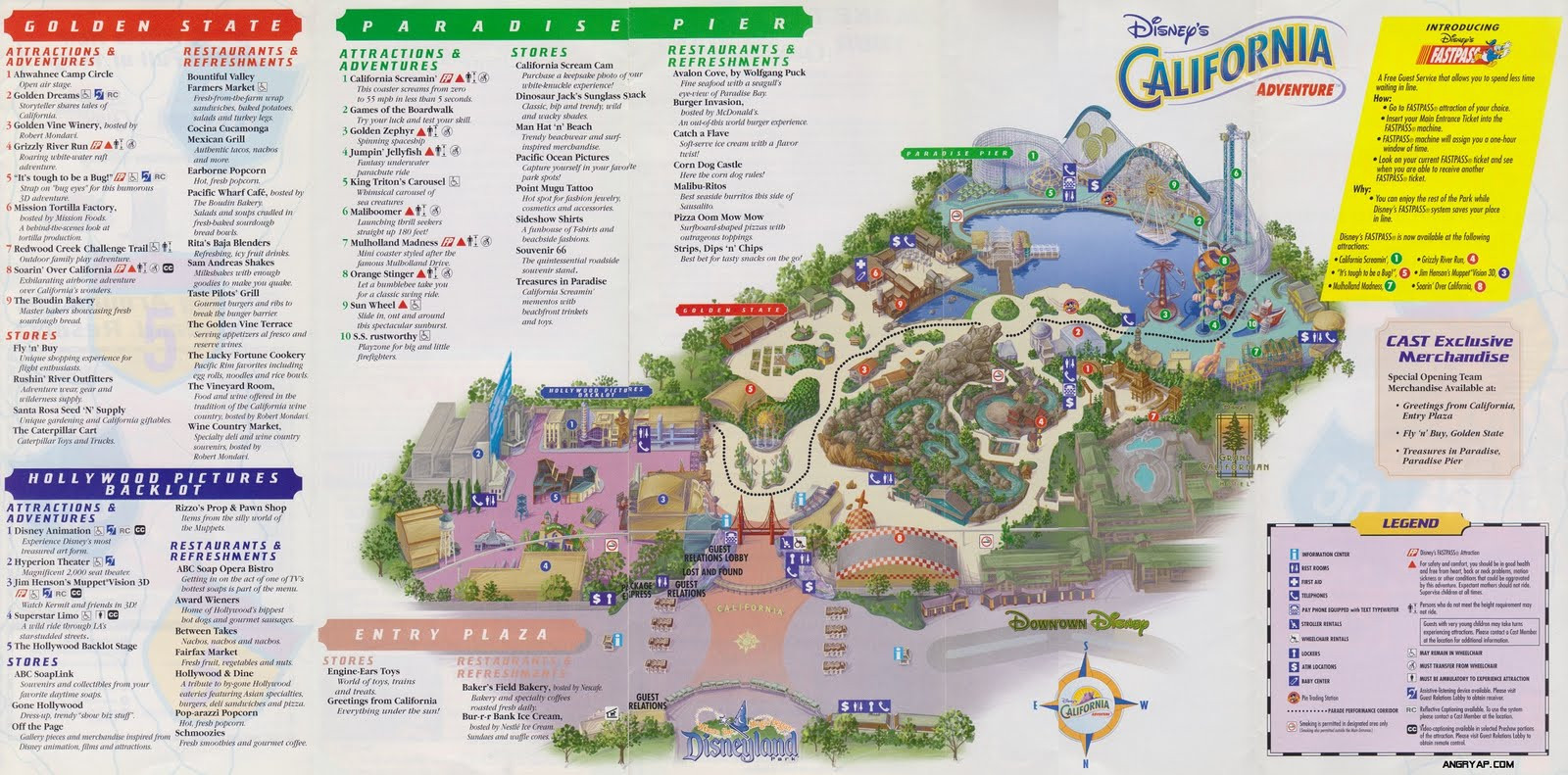 Printable Map Disneyland California Unique Angry Ap Disneyland And Walt Disney World Nostalgia July 2011