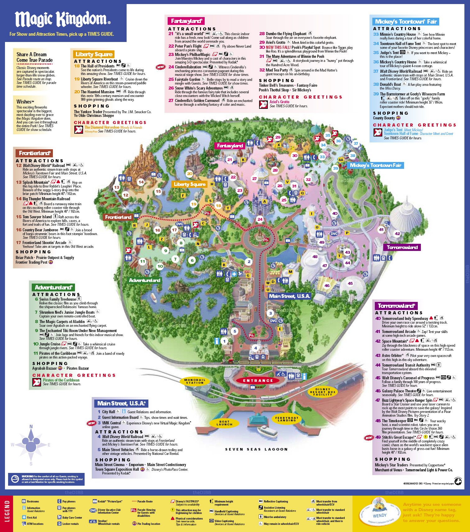 EPCOT map WDW EPCOT Pinterest