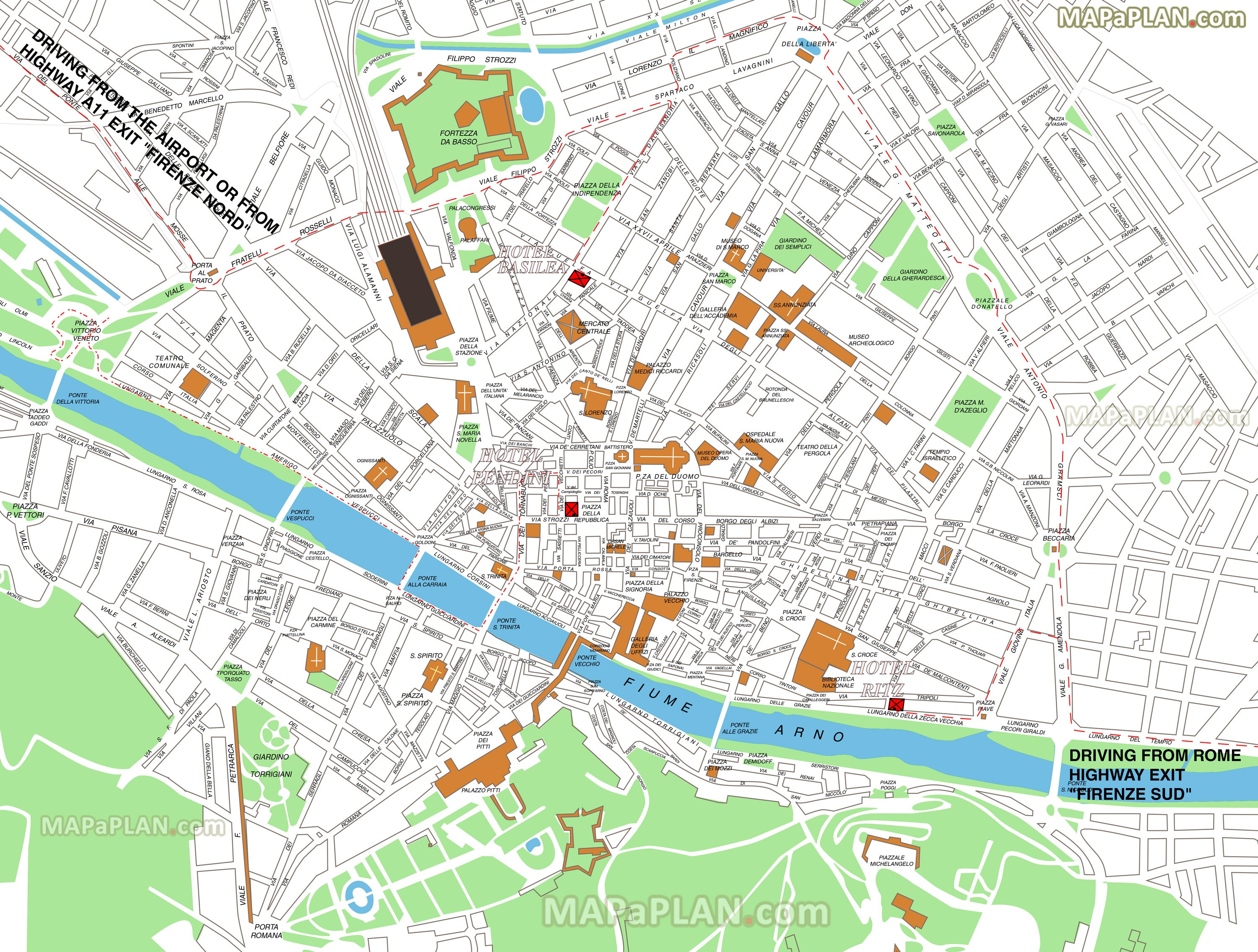 cool florence maps top tourist attractions free printable city inside aa street map uk with florence attractions