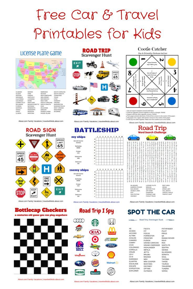 Printable Map For License Plate Game Lovely Free Printable Travel Games For Kids Family Road Trips