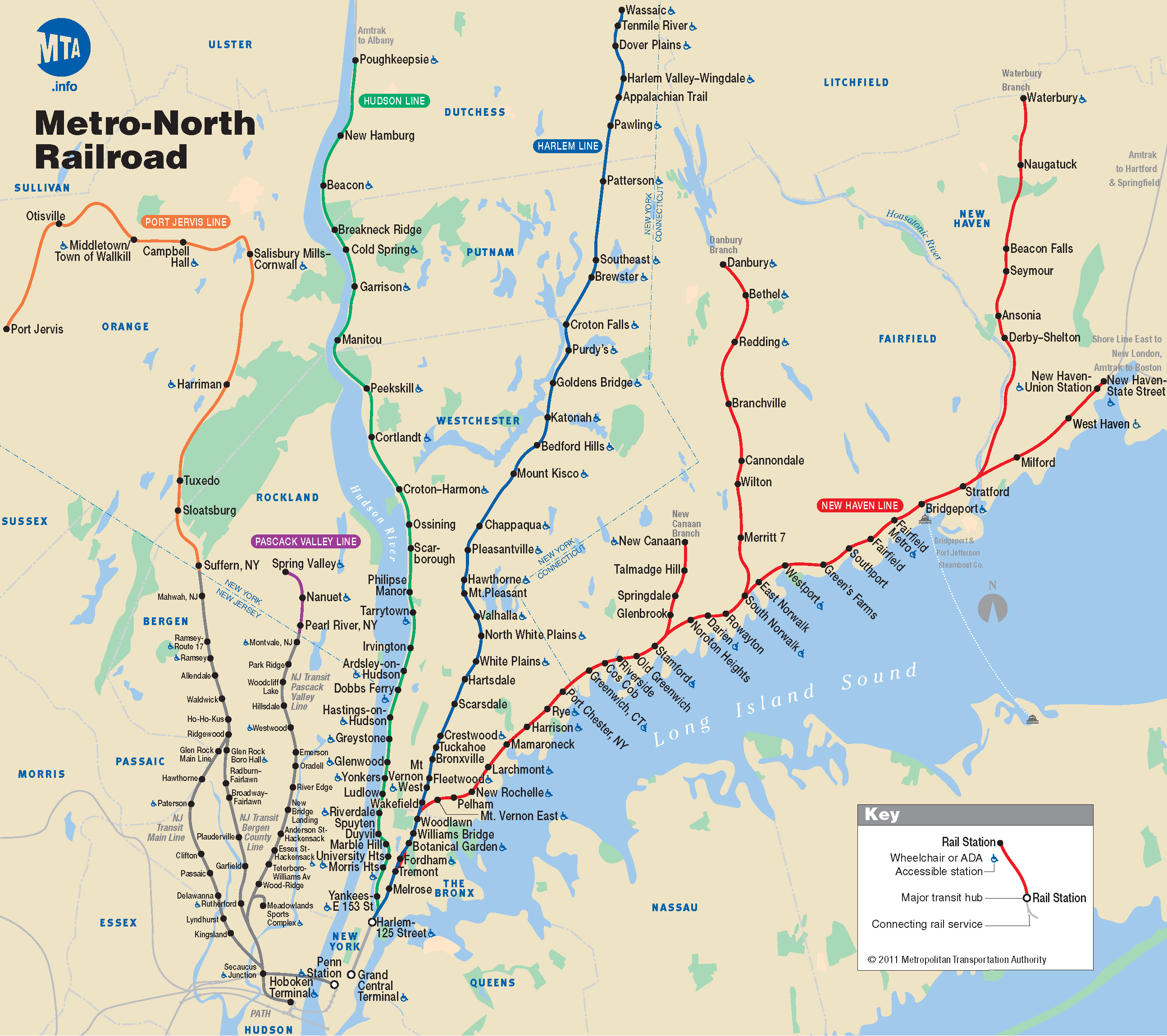 Printable Map For Woodbury Commons New Metro North Map For New York City For Muting Information From