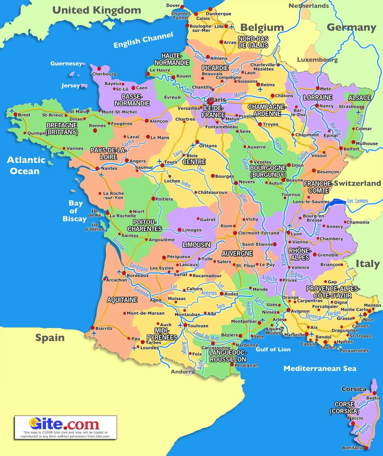 Printable Map France Lovely Map Of South France 2018 Travel Pinterest