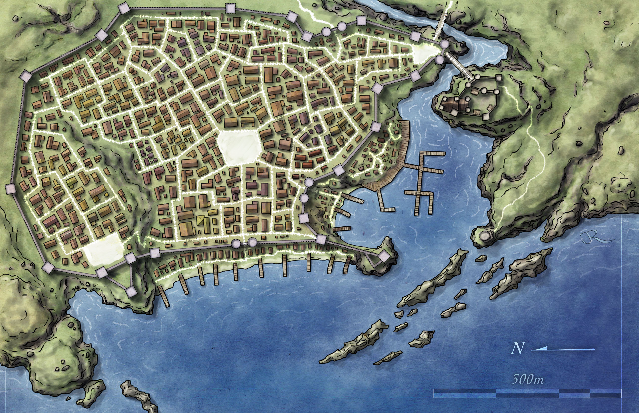 Fantasy City Map Generator Awesome Free City Map Fantastic Maps