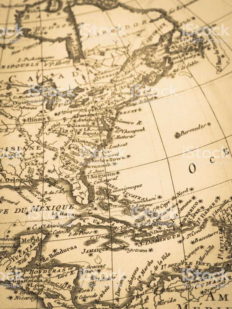 Old Havana Map Best Old Map Latin America Stock & More 18th Century
