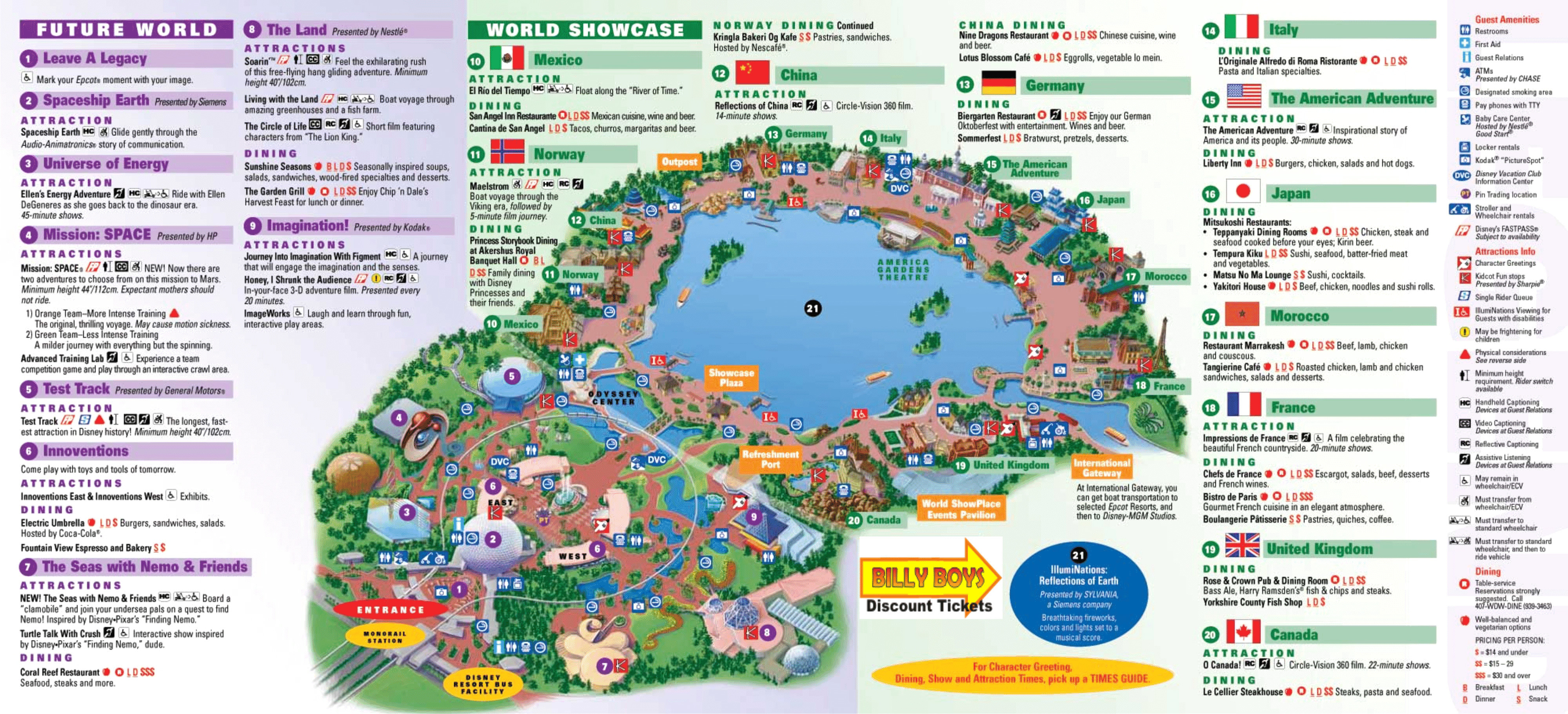 Orlando Florida Area Maps For Disney World Hollywood Studios Map Printable