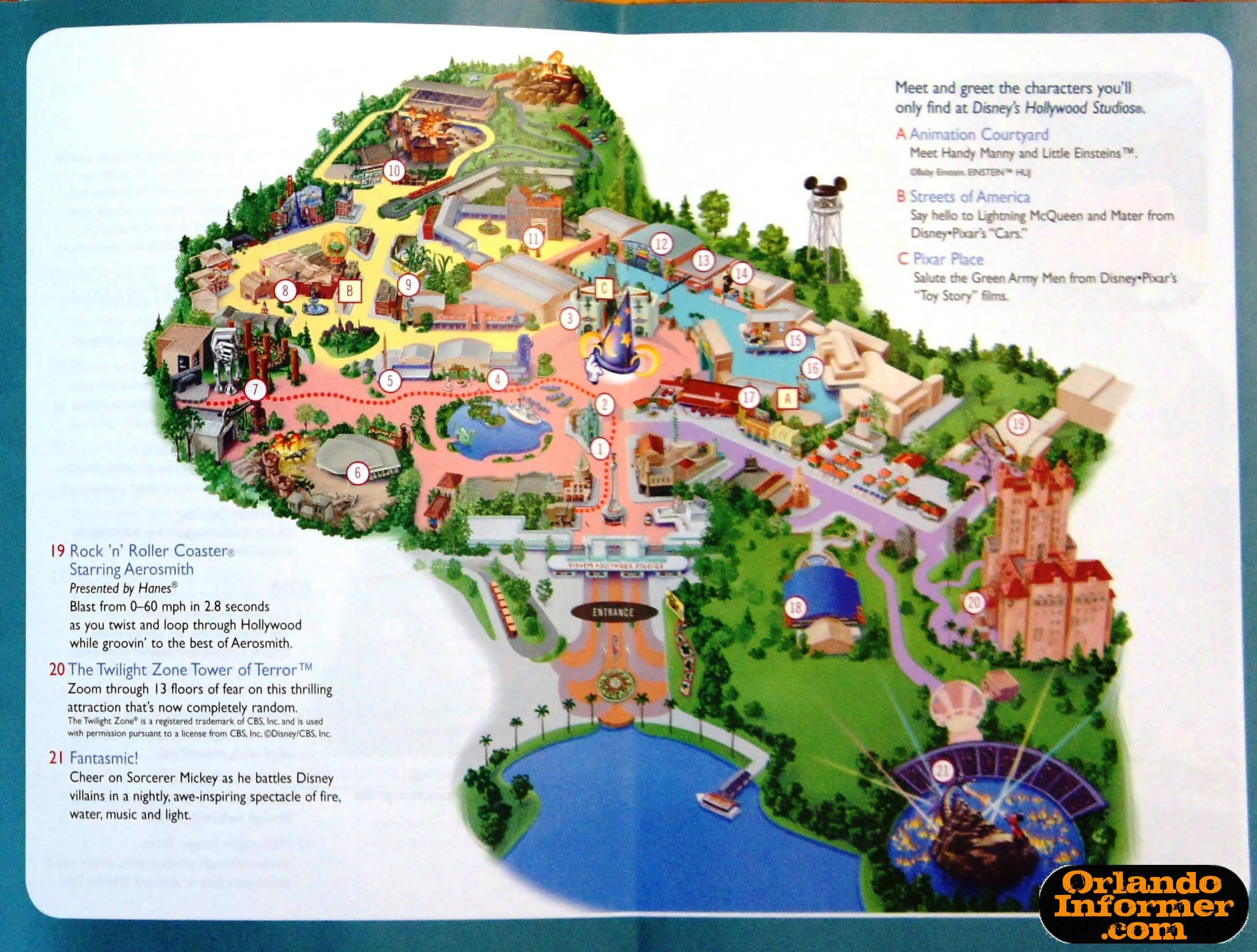 Printable Map Hollywood Studios New Google Map Walt Disney World Florida Inspirationa Hollywood Studios