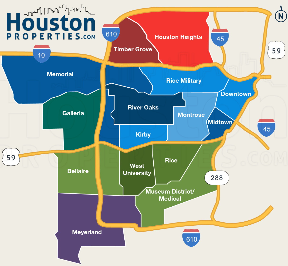 Printable Map Houston Tx Elegant Houston Homes 101 Facts And Figures About Houston