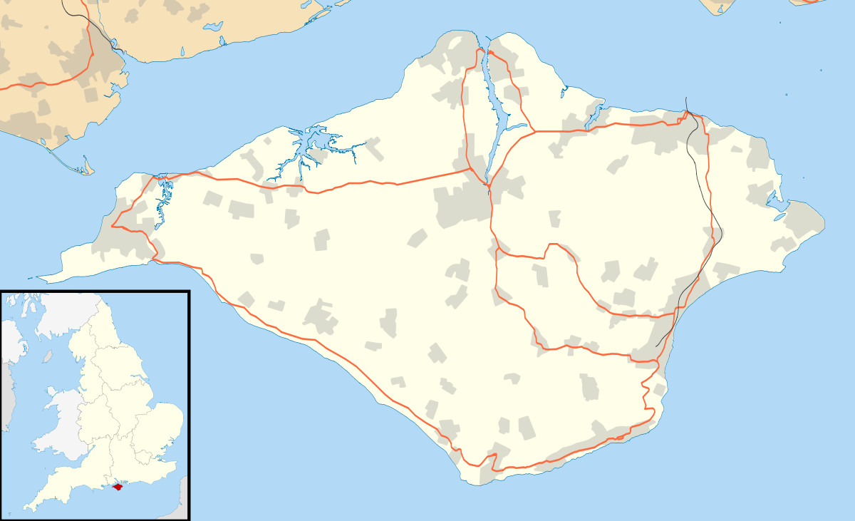 List of places on the Isle of Wight