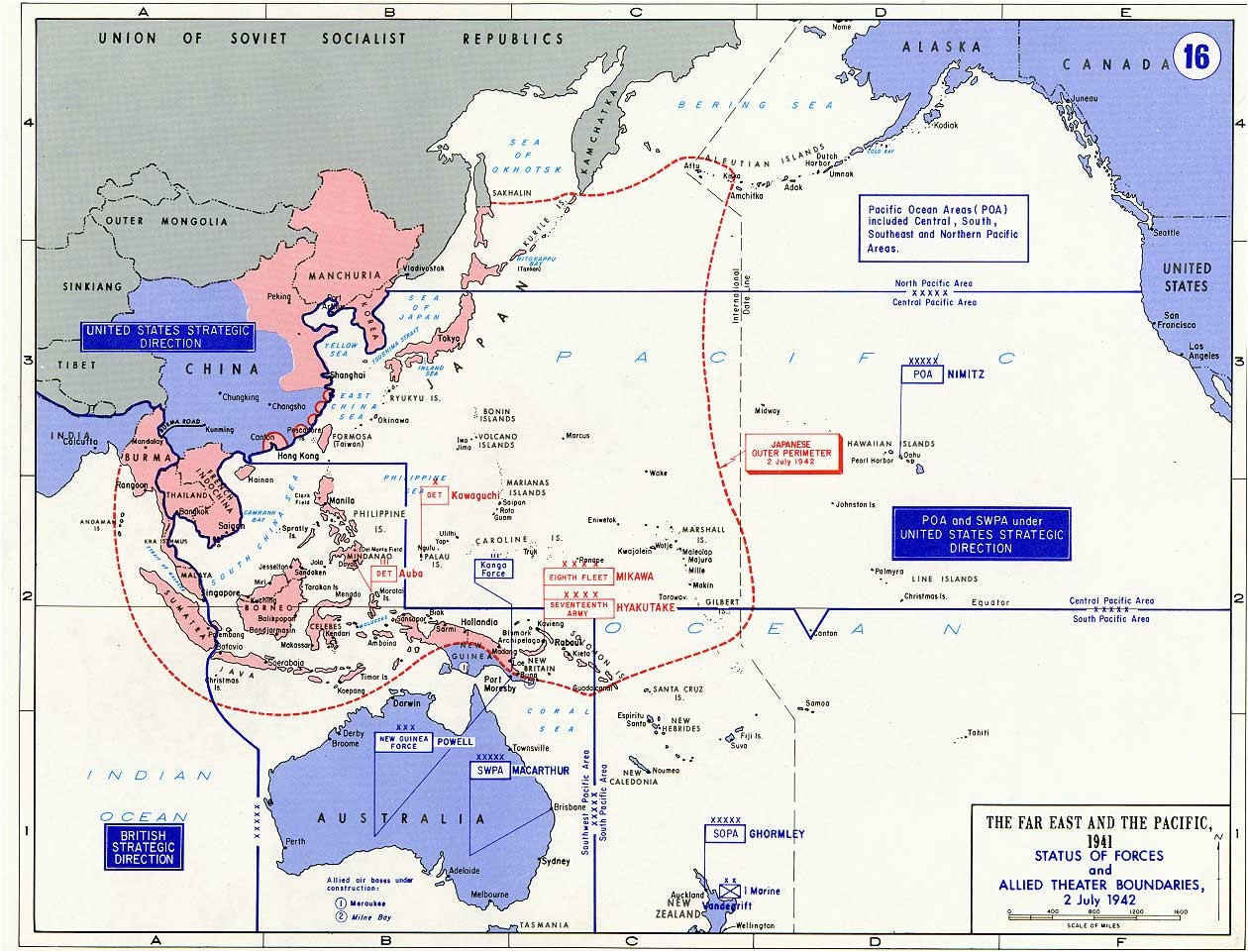 Map East asia and Japan – All Inclusive Map asia Practice Map Battle Map Showing the area the Far East and Pacific 1941 0d