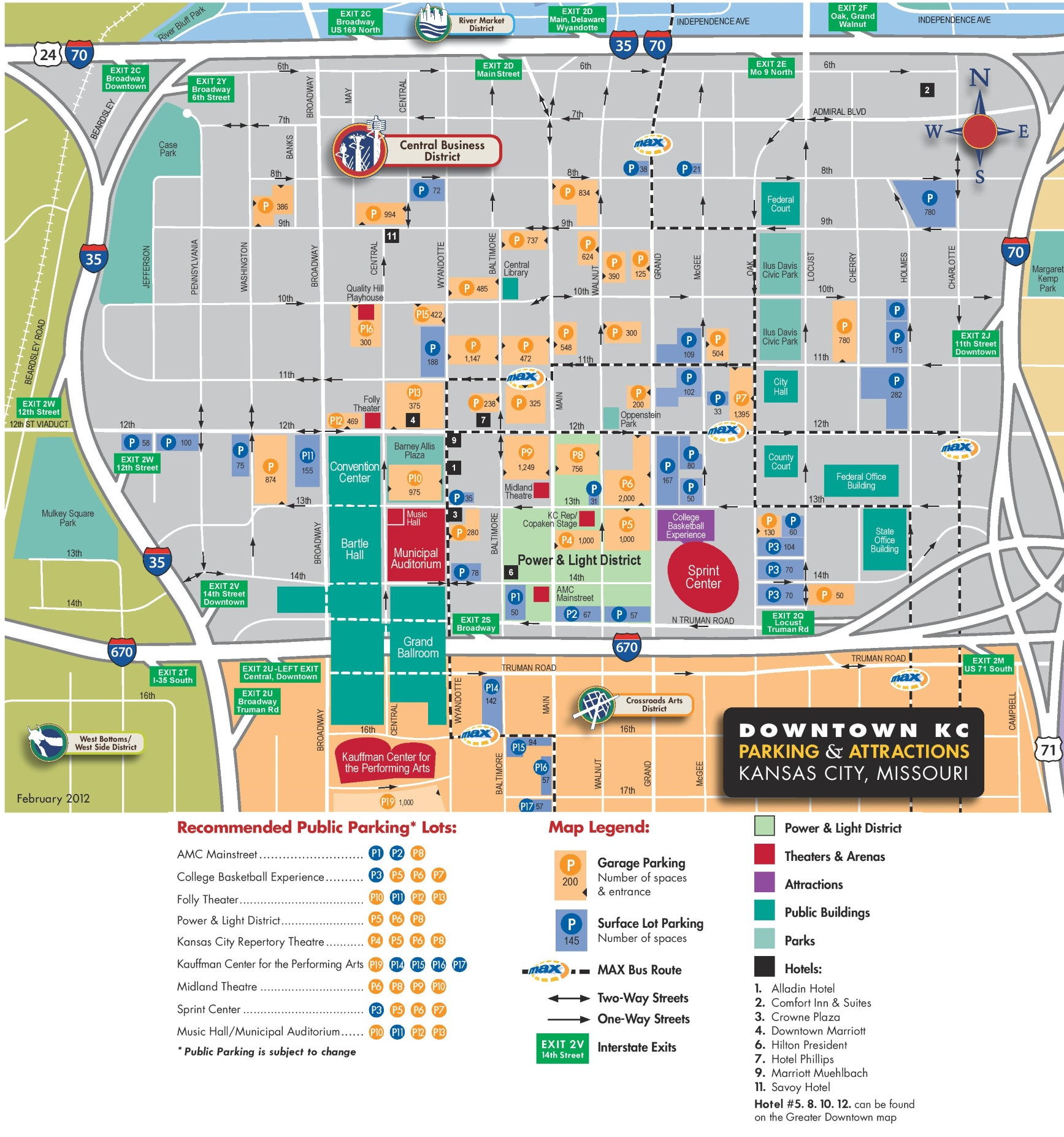 10 Fresh Printable Map Kansas City