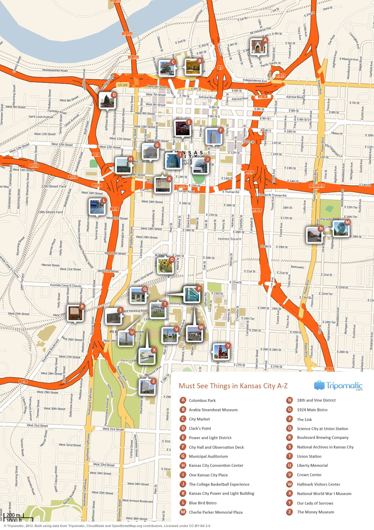 Kansas City Public Transportation Map Elegant What to See In Kansas City Missouri