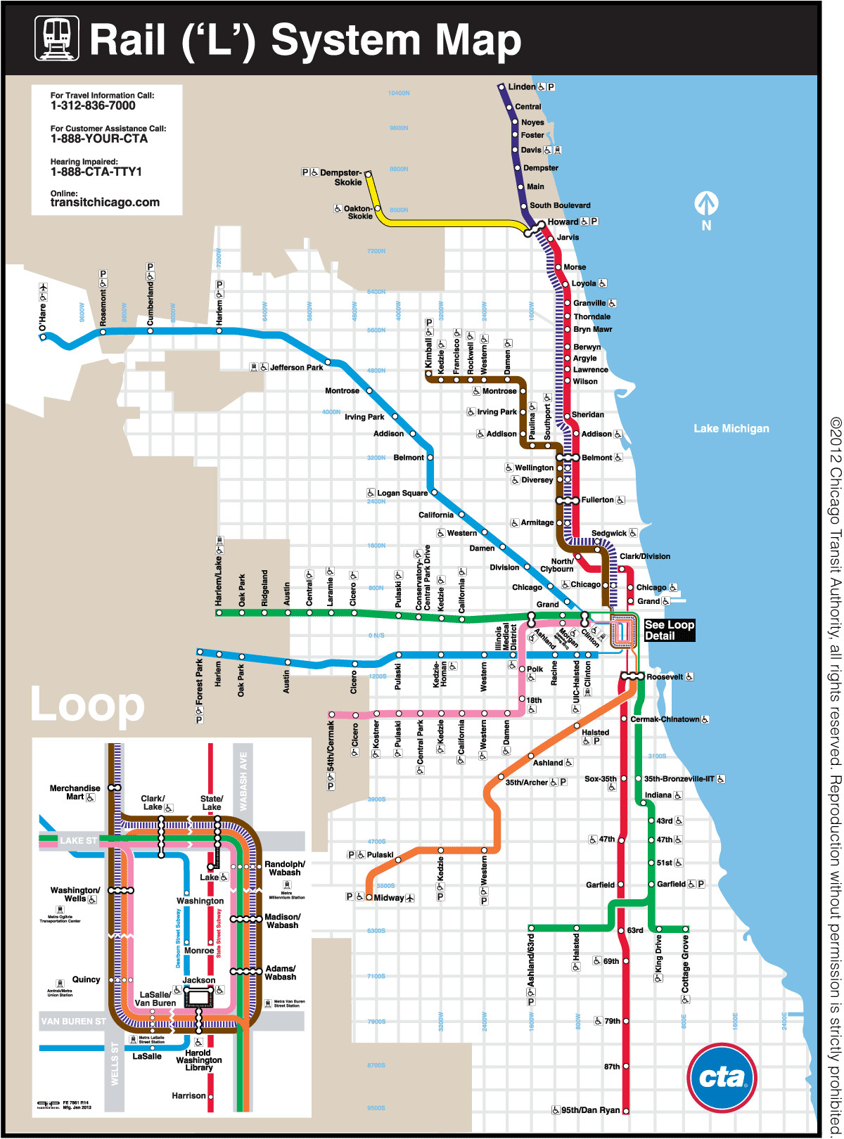 Printable Map Lincoln Unique Chicago Transit Authority Art Posters Pinterest