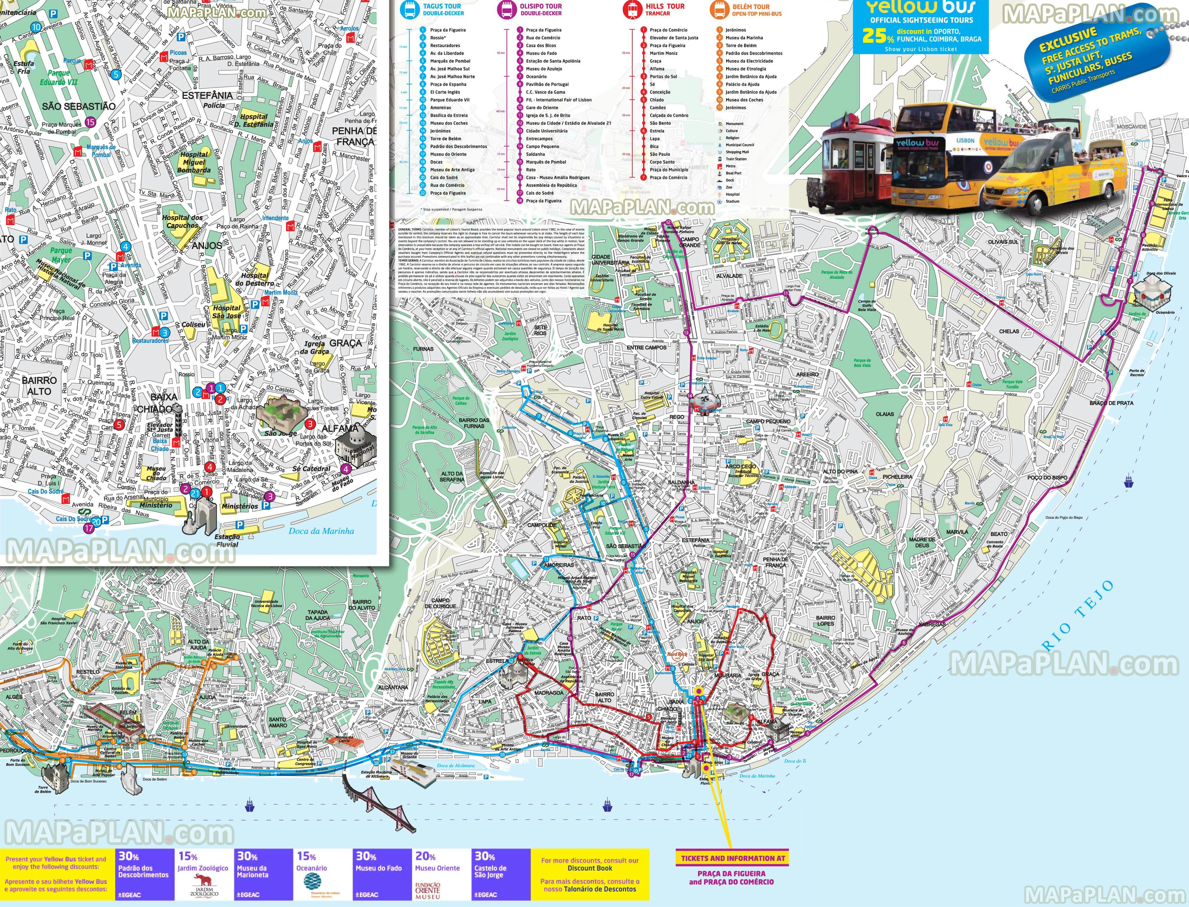 Nyc Street Parking Map Lisbon Maps Top Tourist Attractions Free