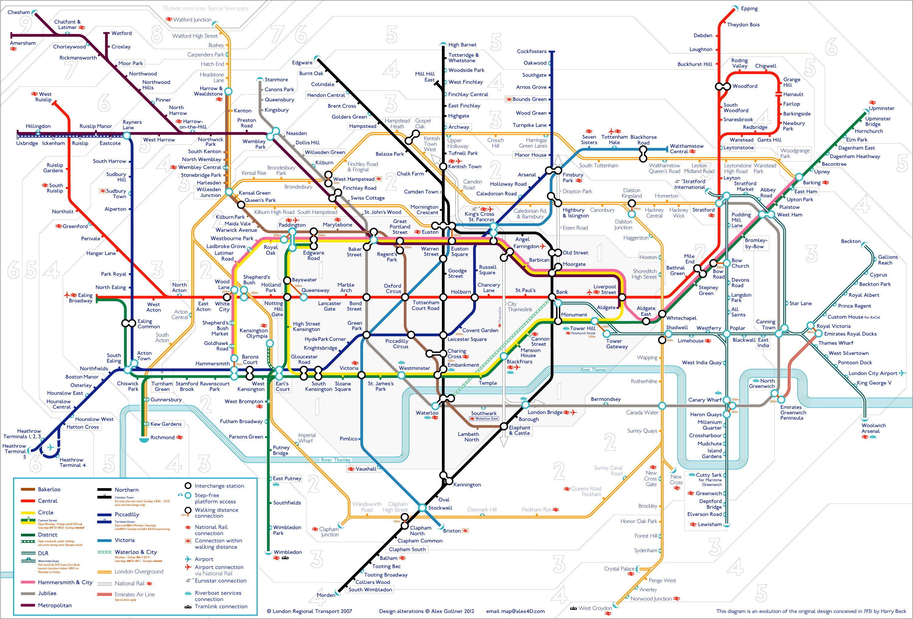 Printable Map London Underground Best Of Tube Map