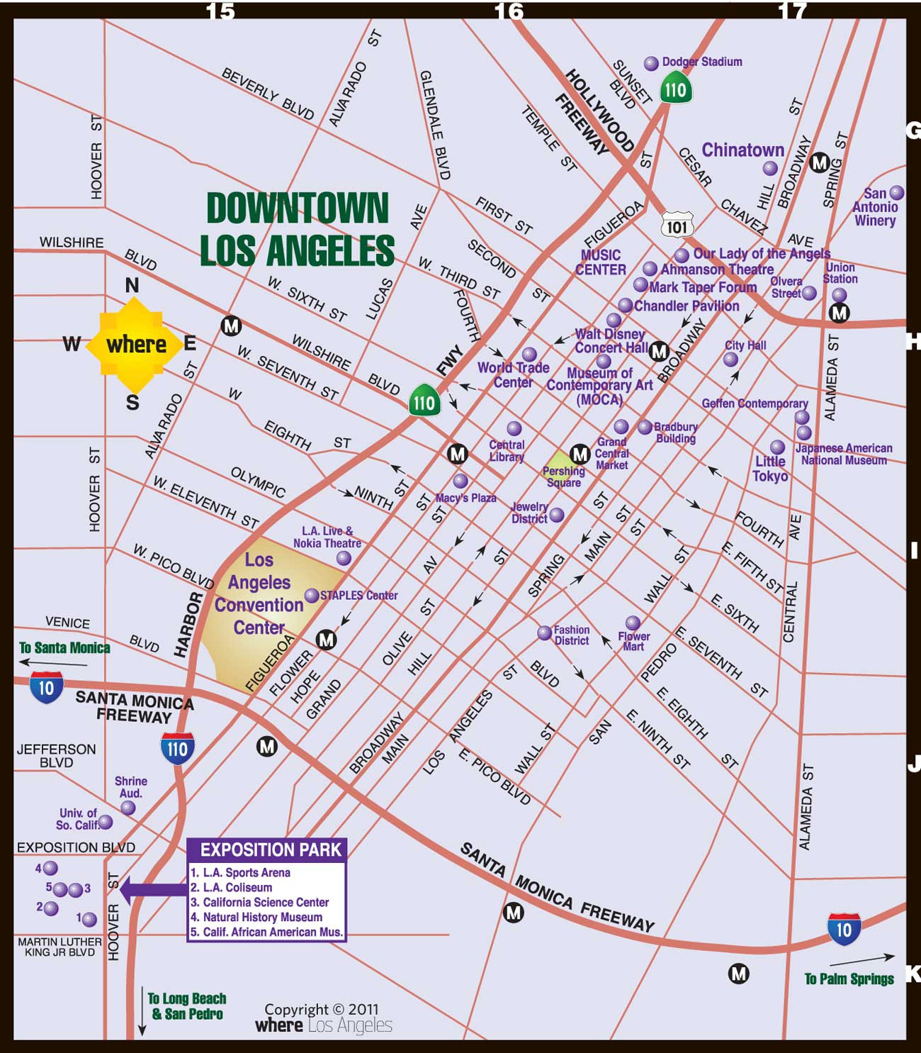 Printable Map Los Angeles Fresh Downtown La Map Website With Gallery Map Los Angeles