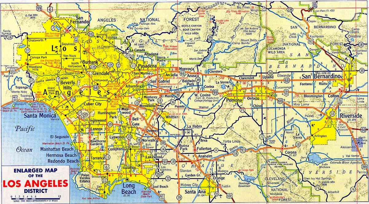 Printable Map Los Angeles Inspirational Los Angeles Maps California Us Maps La Los Angeles Filemap