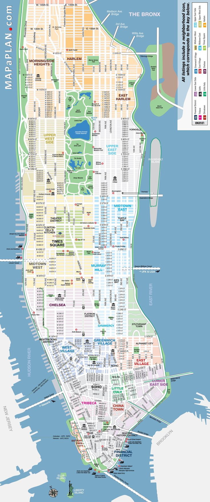 Printable Map Lower Manhattan New 43 Best Travel Images On Pinterest