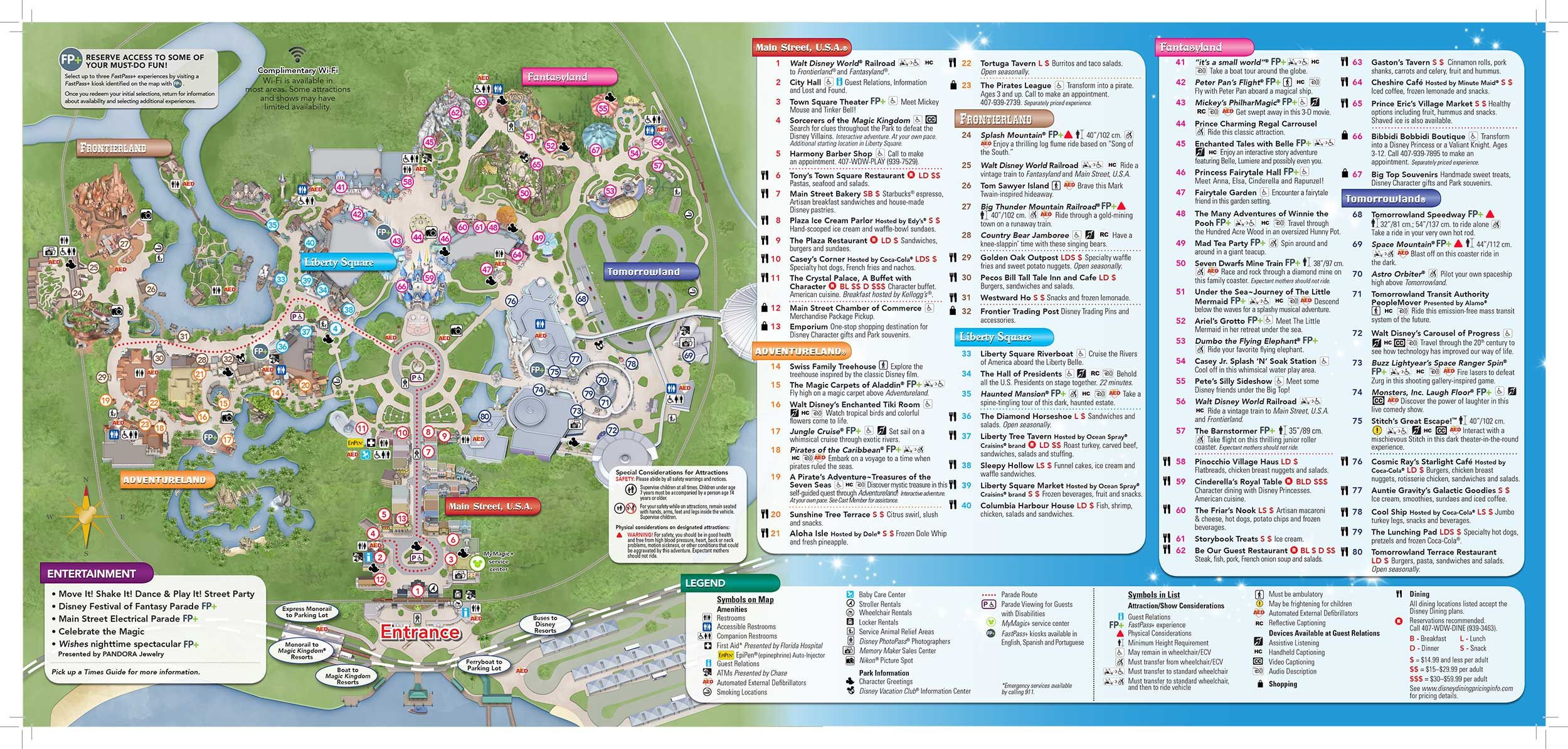 disney magic kingdom map Virtual Magic Kingdom